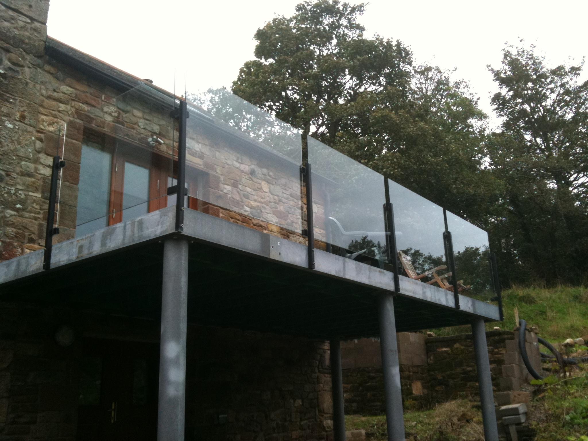 Bespoke balustrade