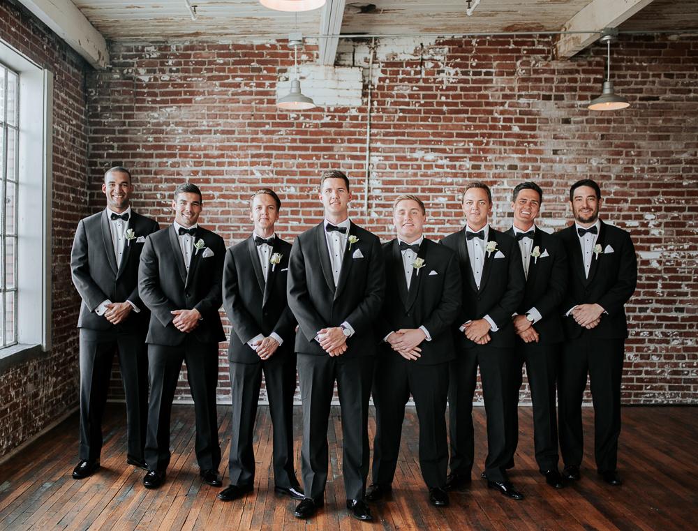 Memphis Wedding Photographer, 409 South Main Wedding