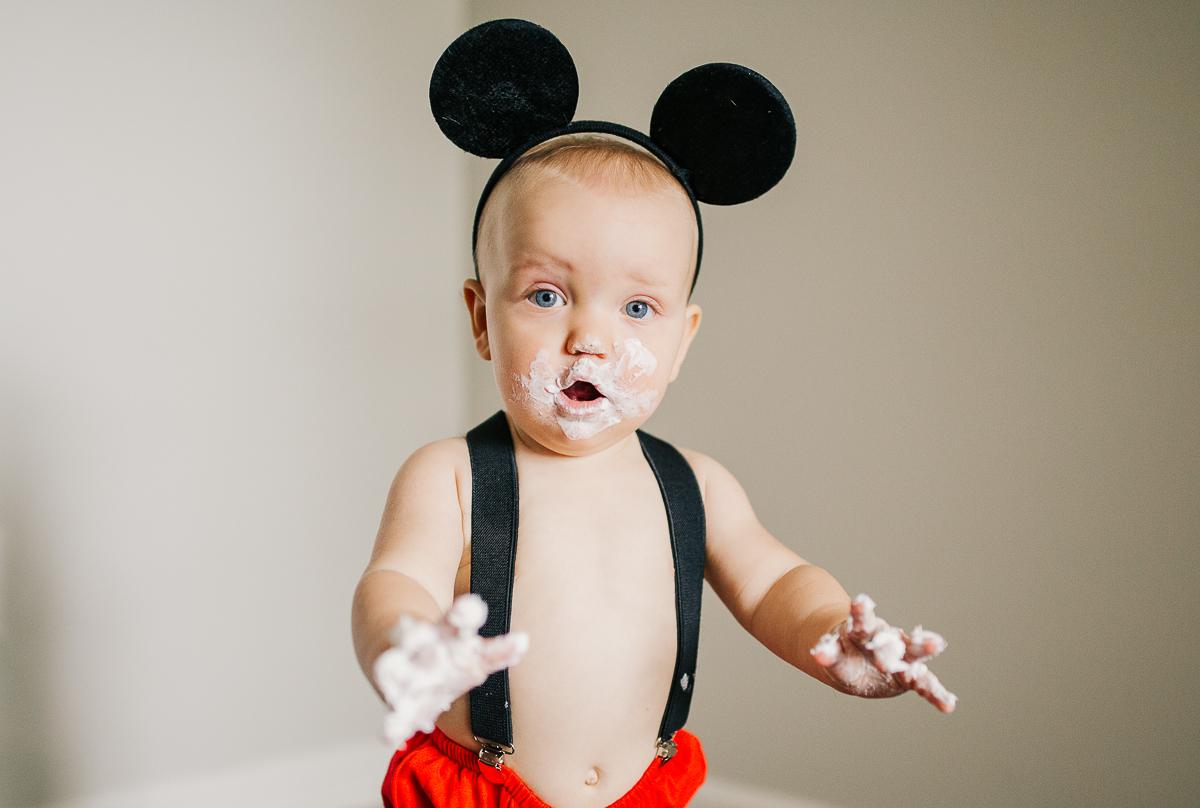 Memphis family photographer, Cake smash photoshoot