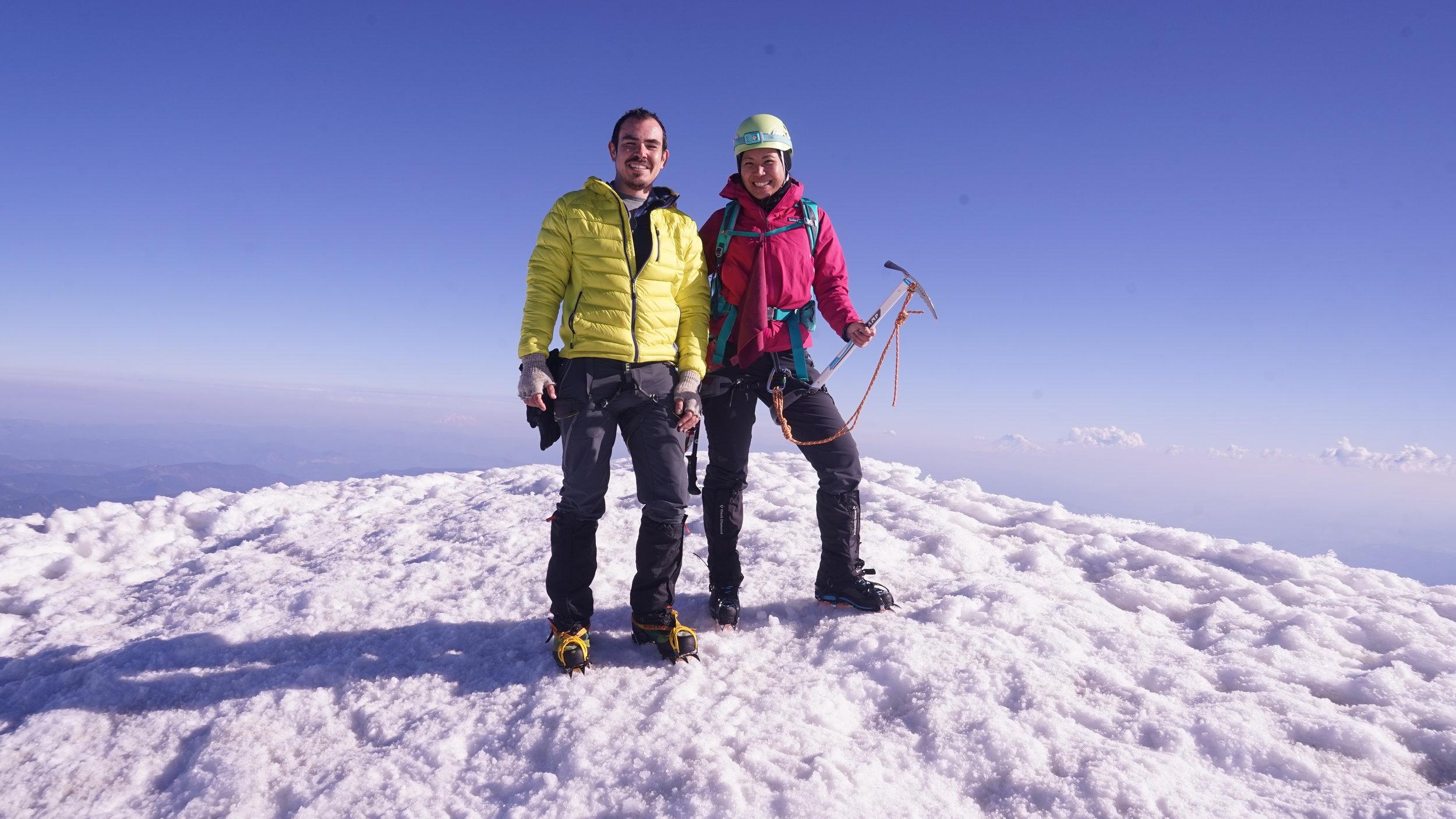 Woohoo!! Summit!