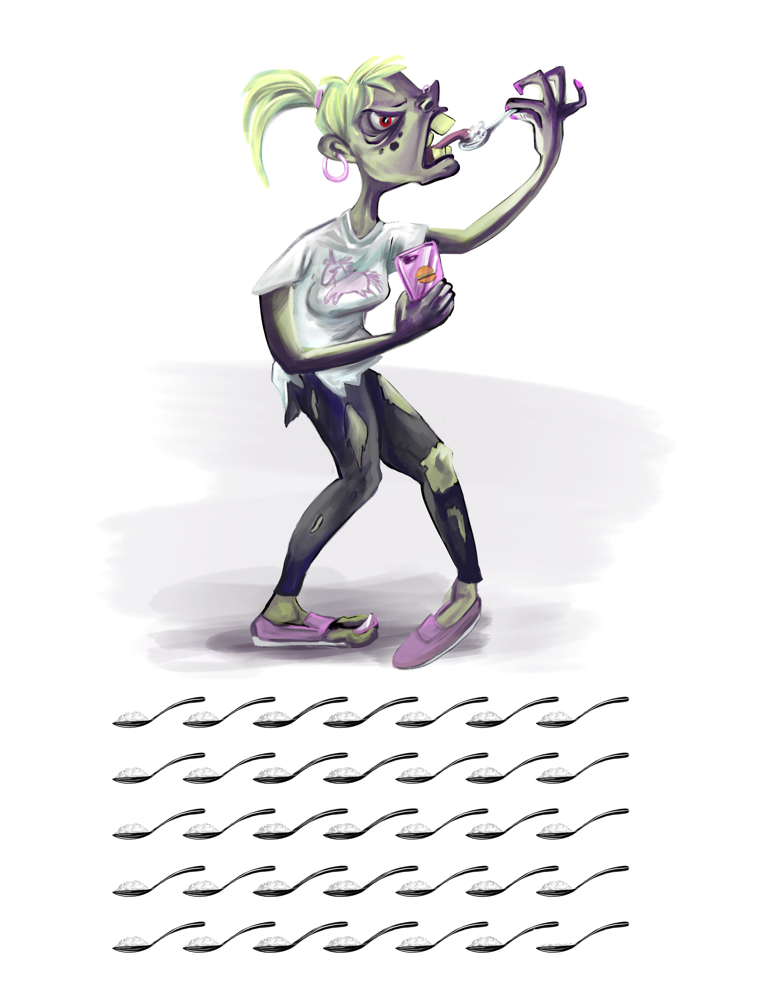 Junk Food Zombie