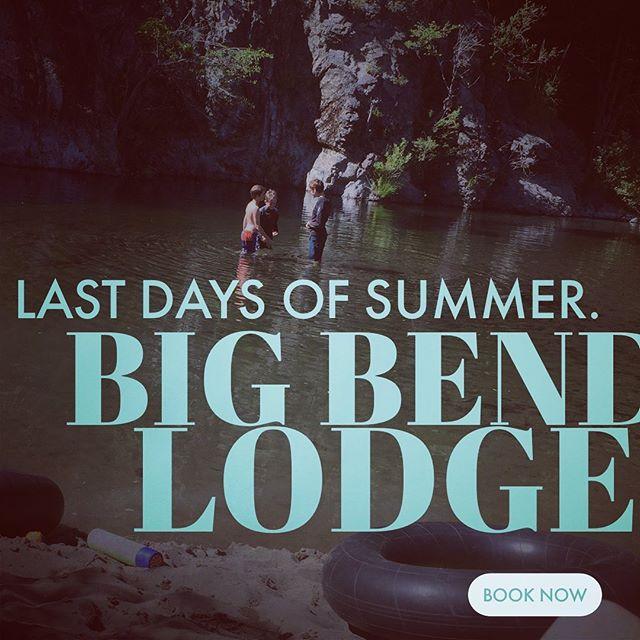 Come visit. Www.bigbendlidge.com