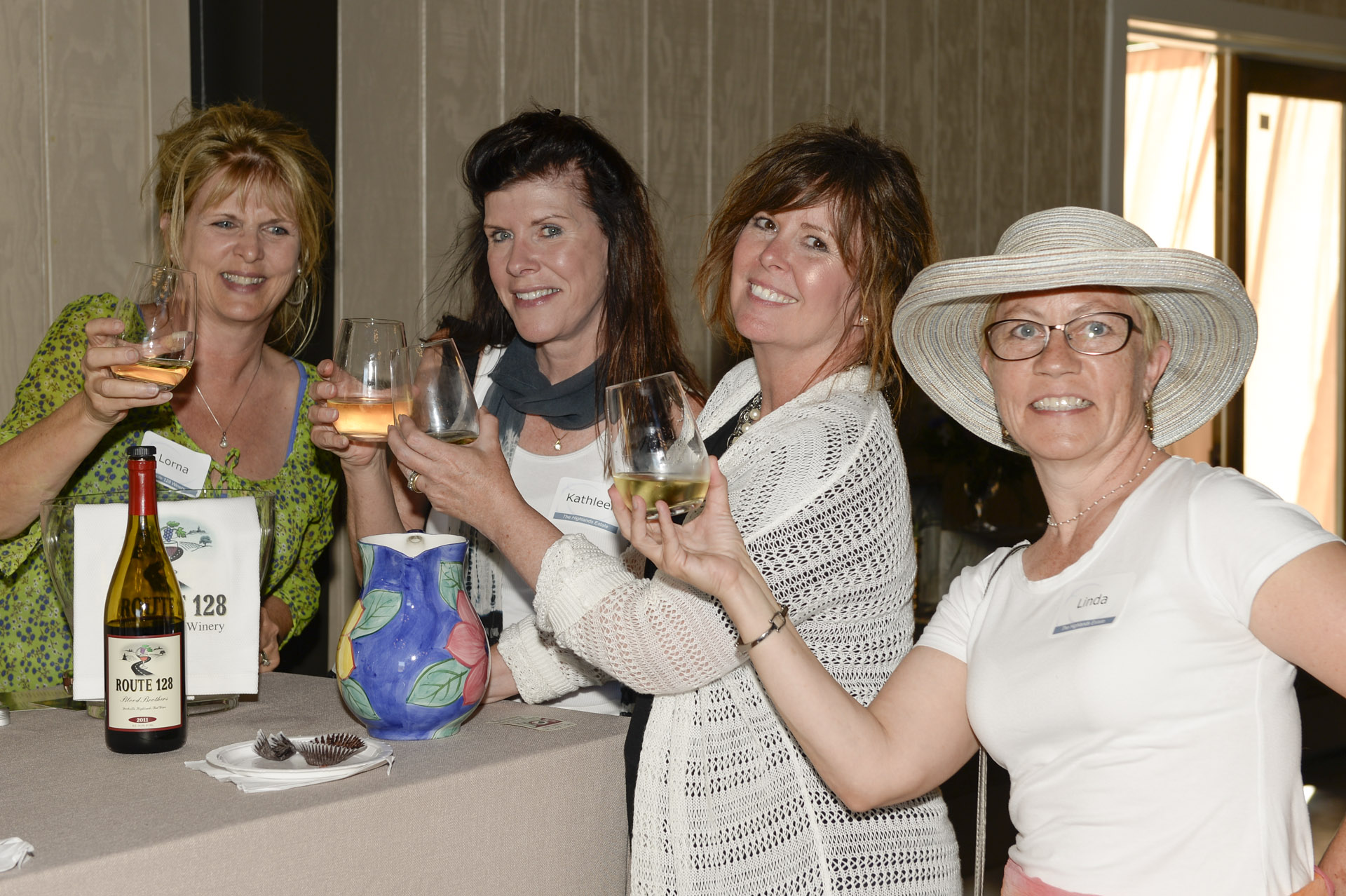 Open House toast at The Highlands Estate