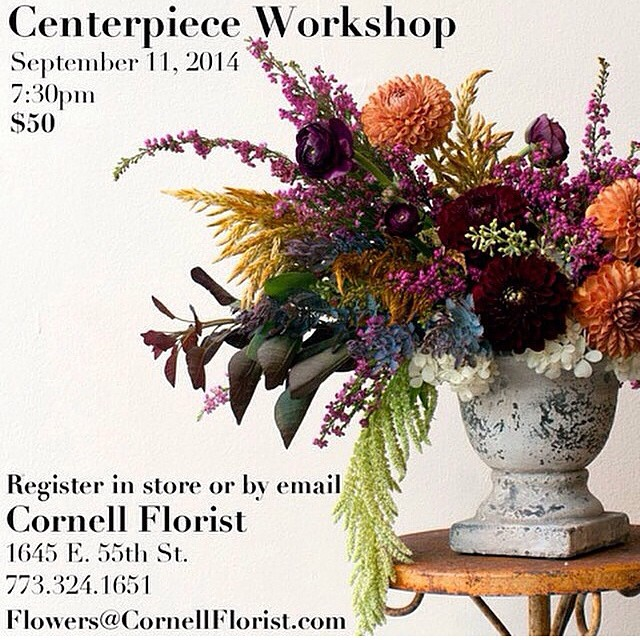 Sign up via e-mail or in the shop to reserve your space! Tools, materials, and refreshments provided.