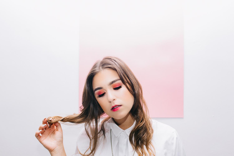 Musician  Susy Sun ;EP cover shoot