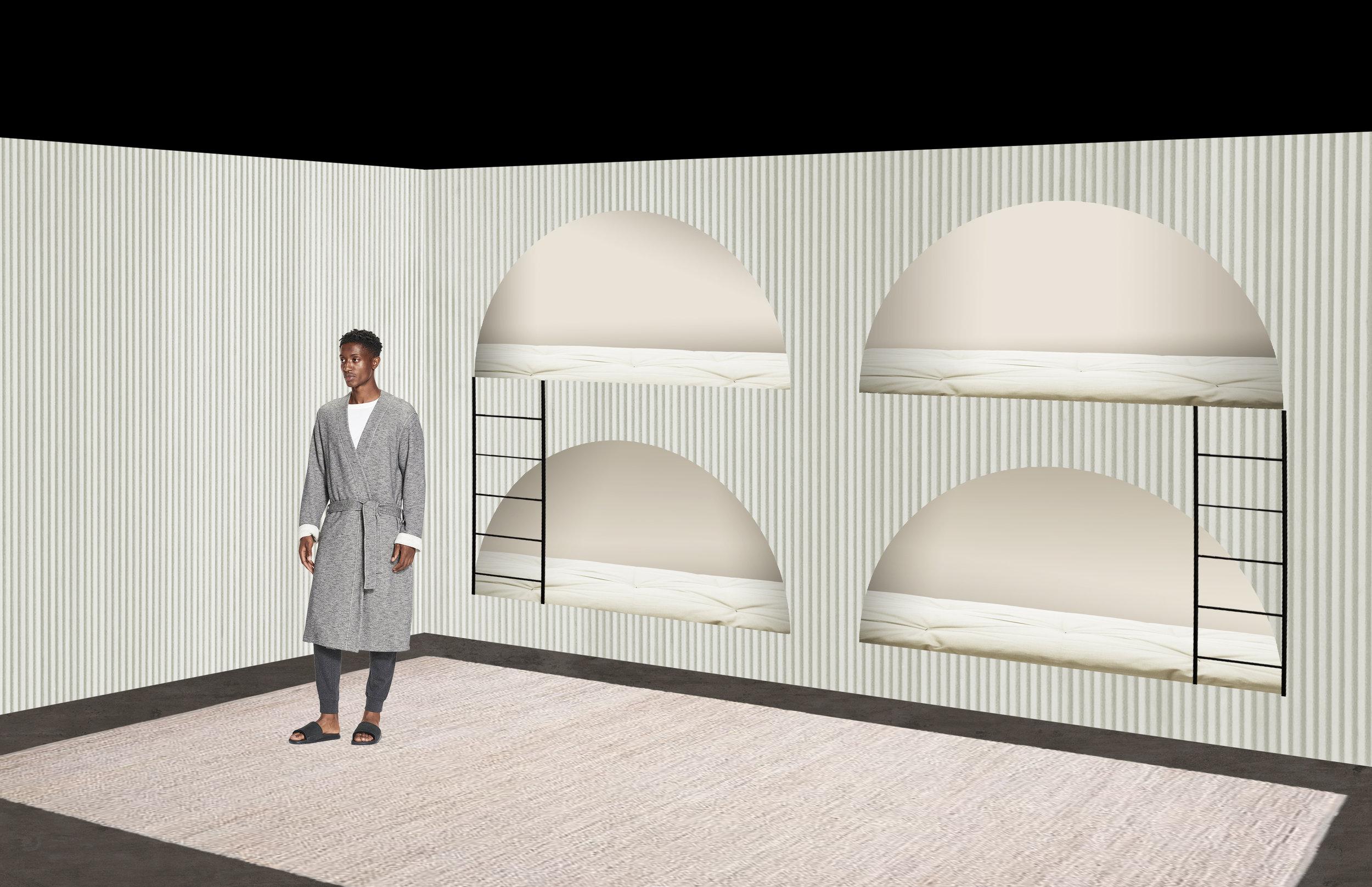Lounge Room, Asheville, NC   Conceptual Design Mock-Up