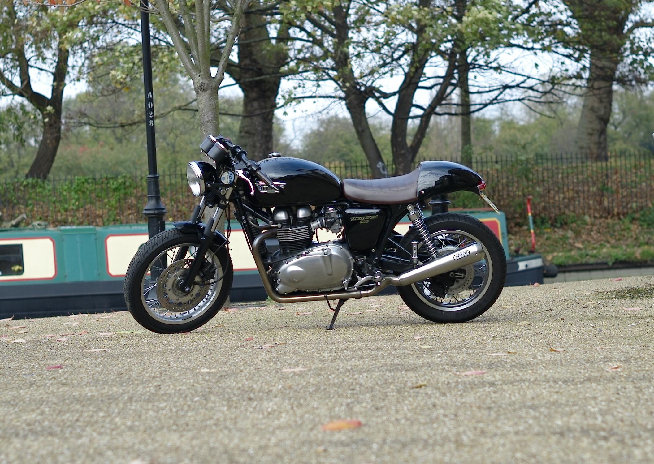 Casual snob Triumph Thruxton 900.JPG