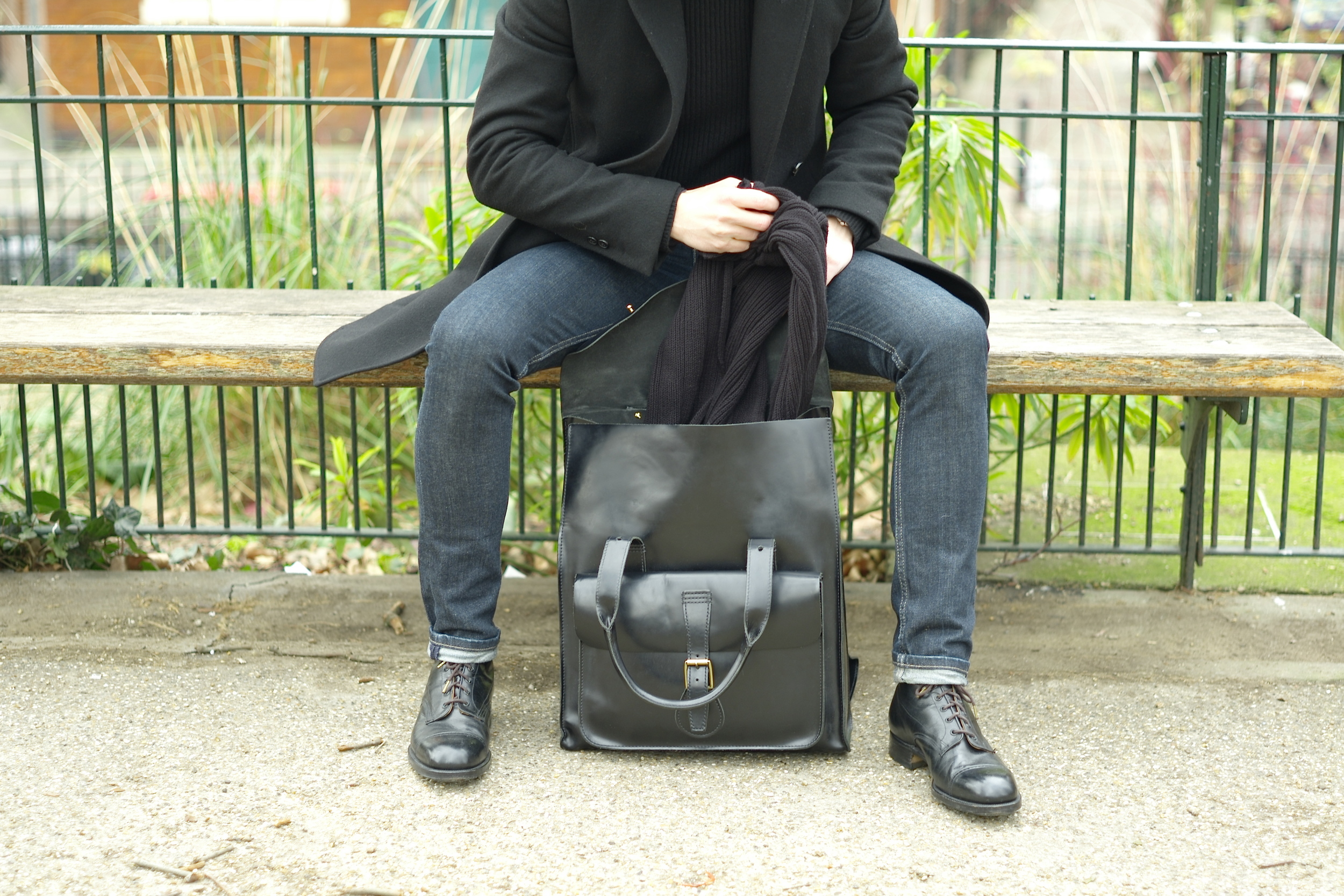 casual snob dr martens bag