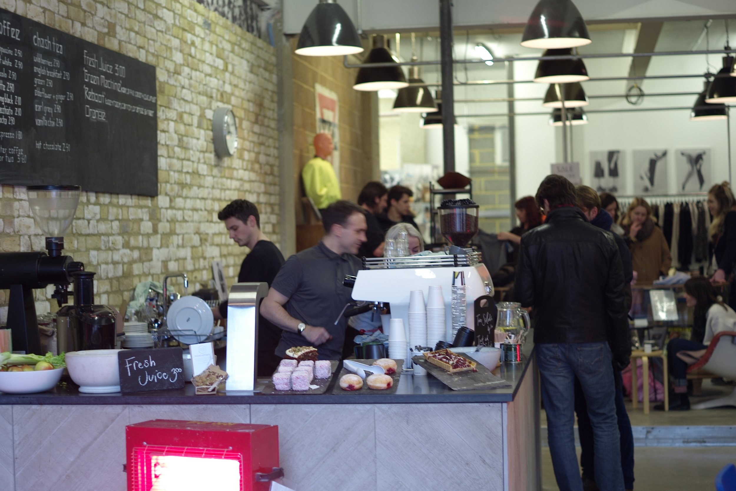 Hunter Gather Store & Ozone Coffee Roasters Redchurch Street