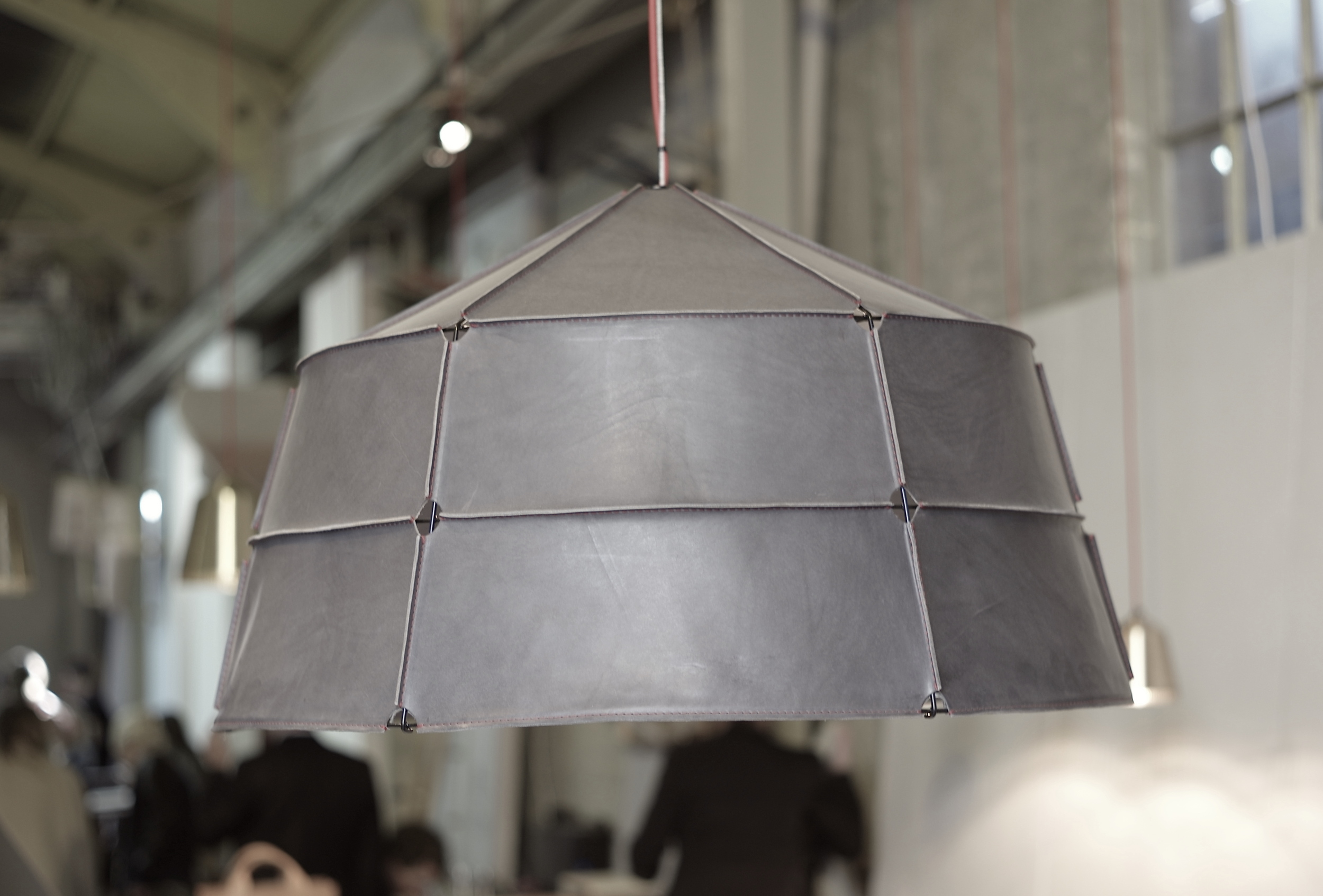 Casual snob - Leather Lamp Shade.JPG