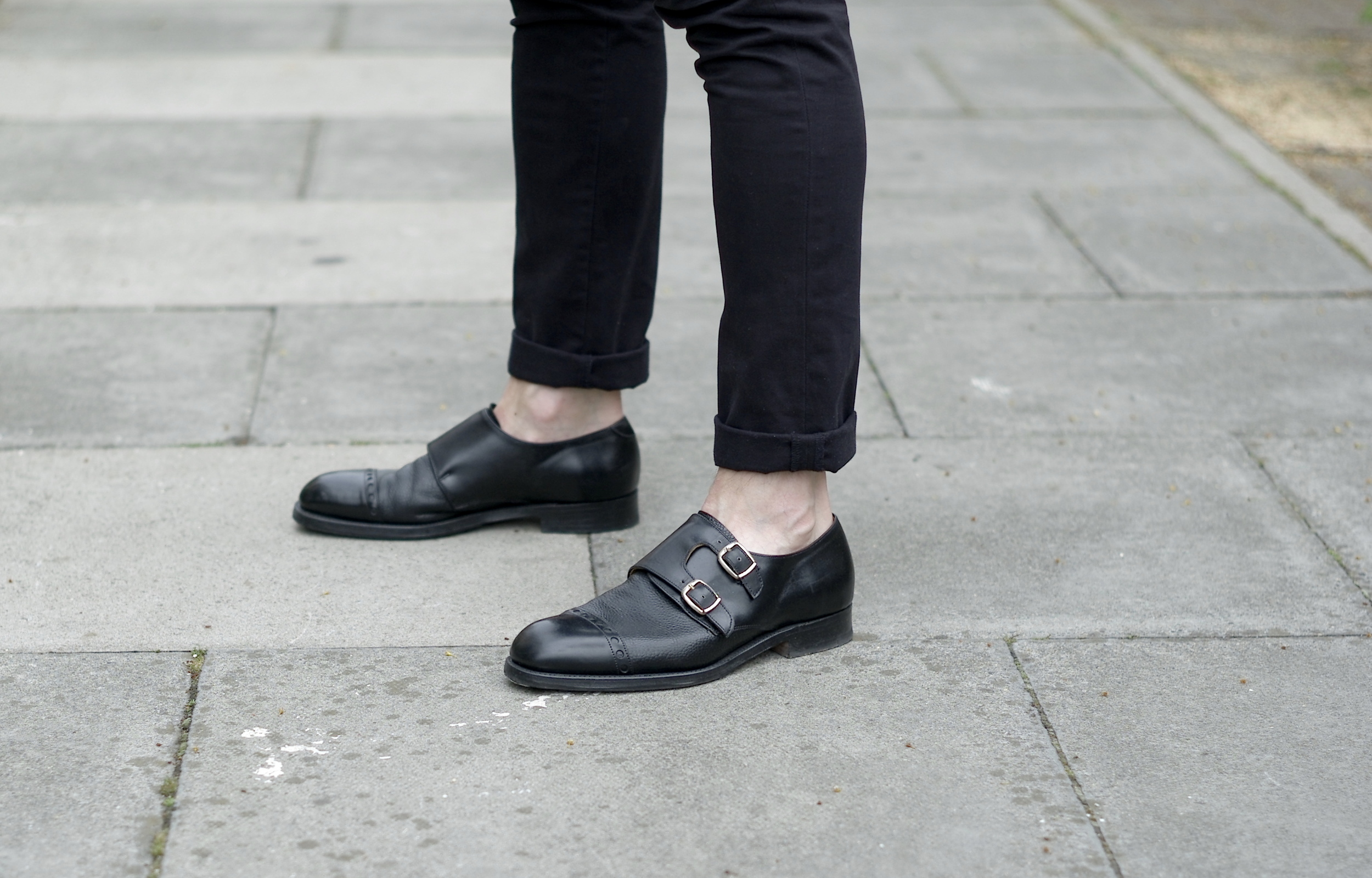 Casual snob Cheaney Monk Shoes