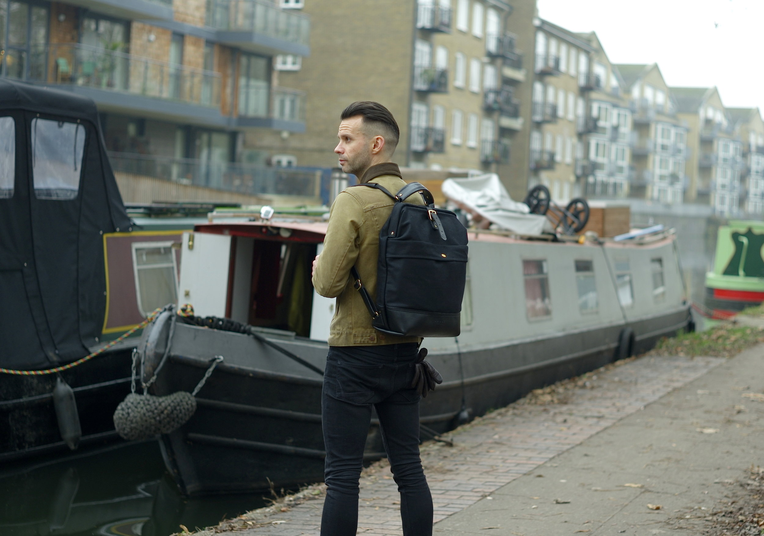 Casual snob John Hybrid Backpack Bartosz Gajec  2.JPG