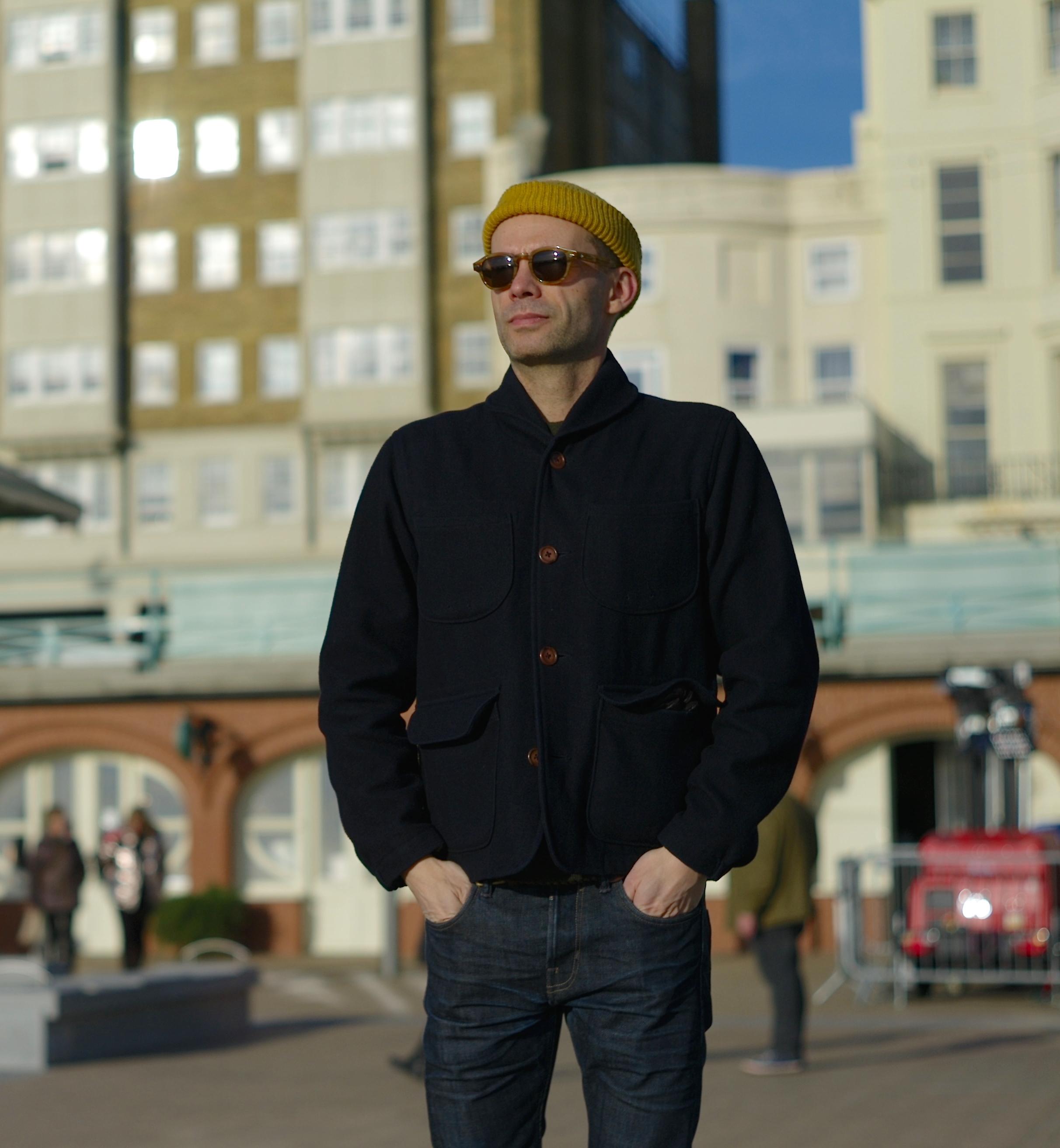 Bartosz Gajec - Casual snob - Universal Works Melton Jacket Grenson Andy Boots 7.JPG