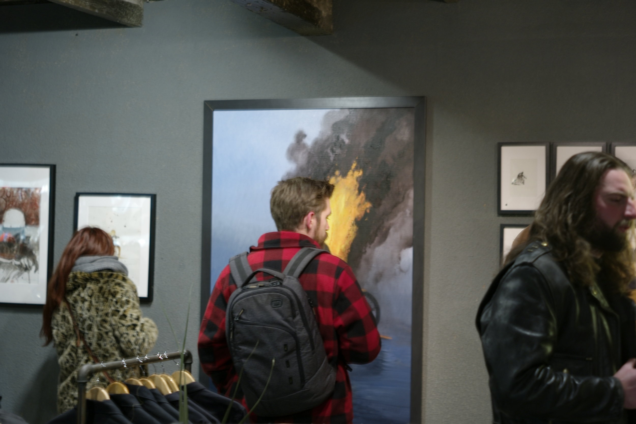 Casual snob - Nicholas Coleman Exhibition at Bolt.JPG