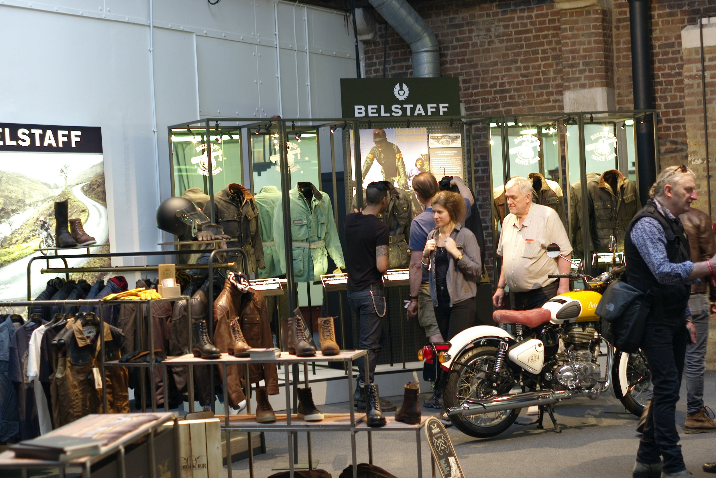 Casual snob - Bikeshed London 2018 Belstaff.JPG