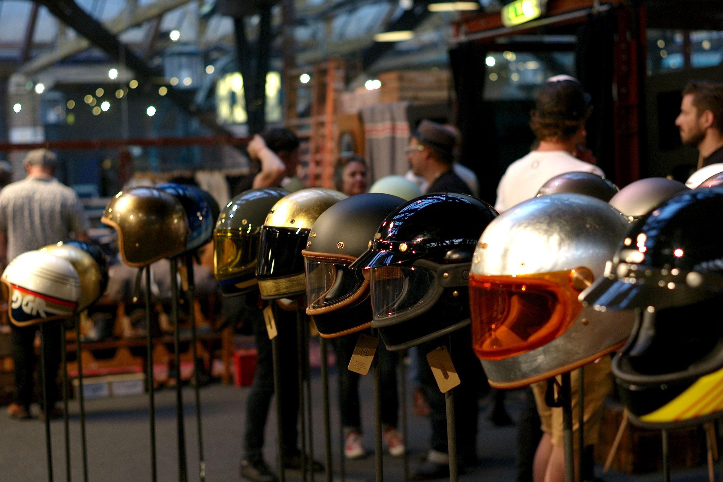 Casual snob - Bikeshed London 2018 Hedon Helmets.JPG