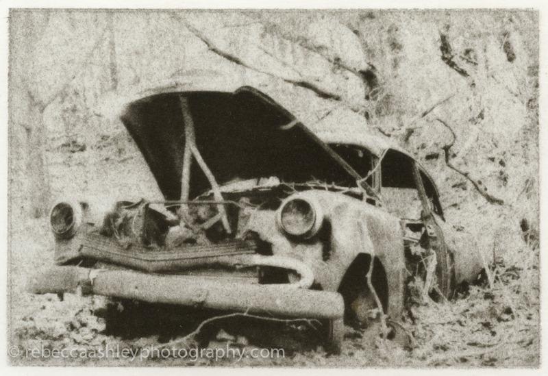 Ghost Car (Bromoil, 2012)