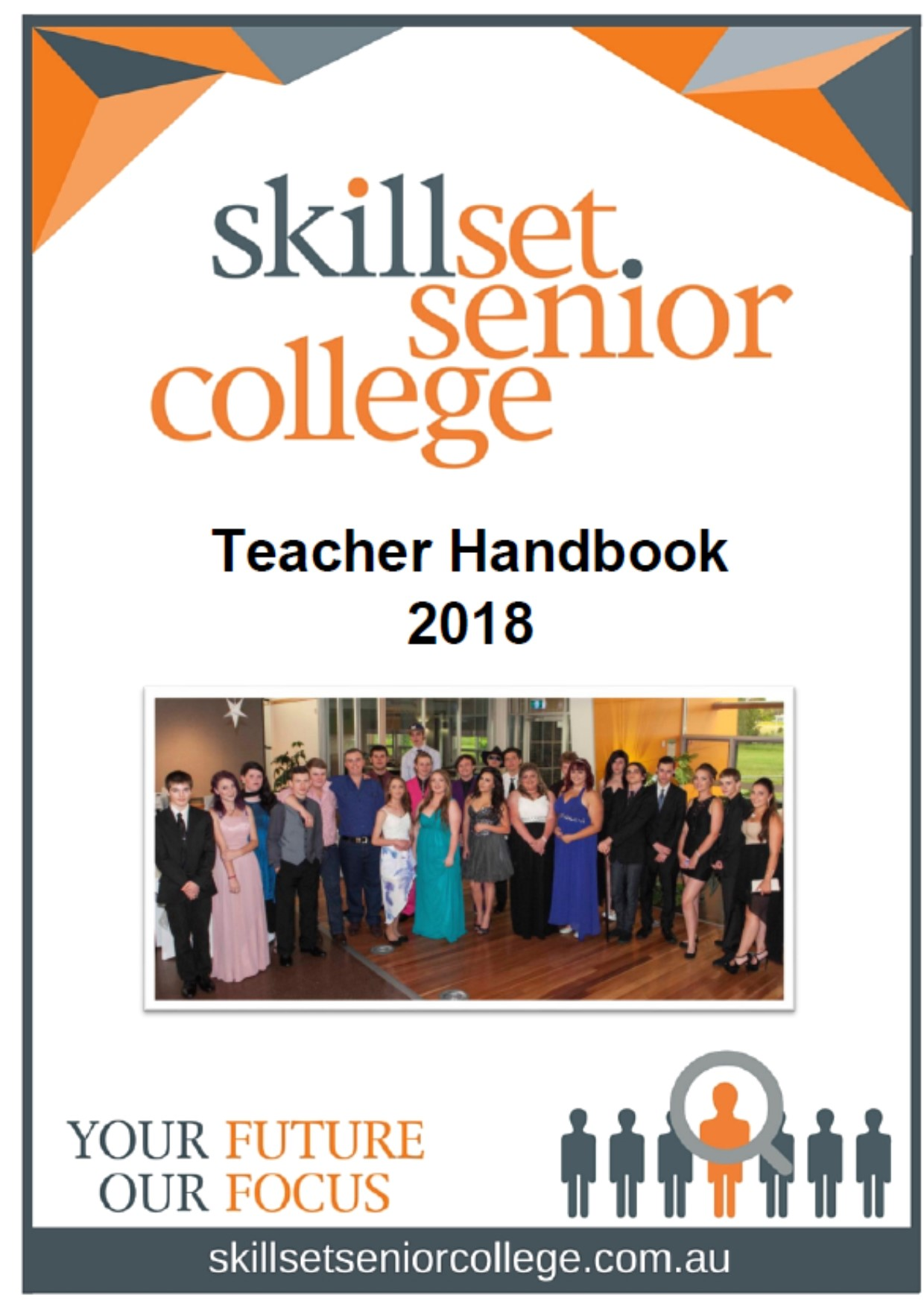 Click image - to download a PDF of the Teacher Handbook 2018