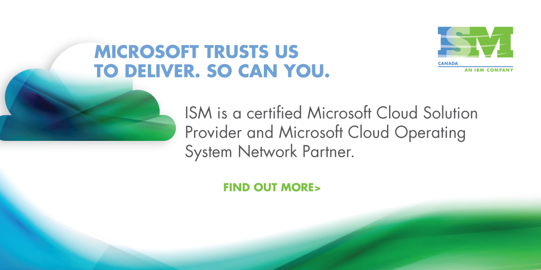 Microsoft trust us to deliver. So can you.