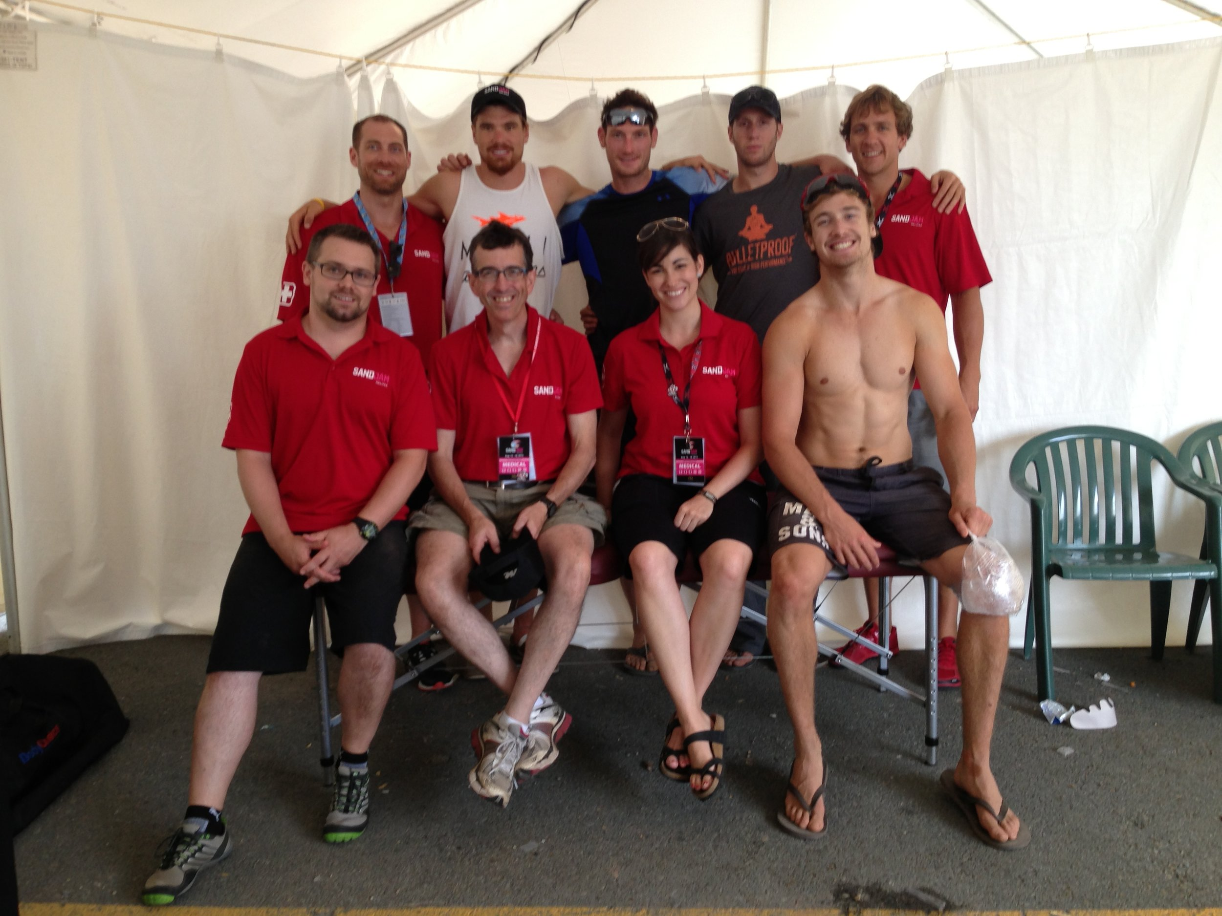 2013 Sand Jam - team canada and therapy team.JPG