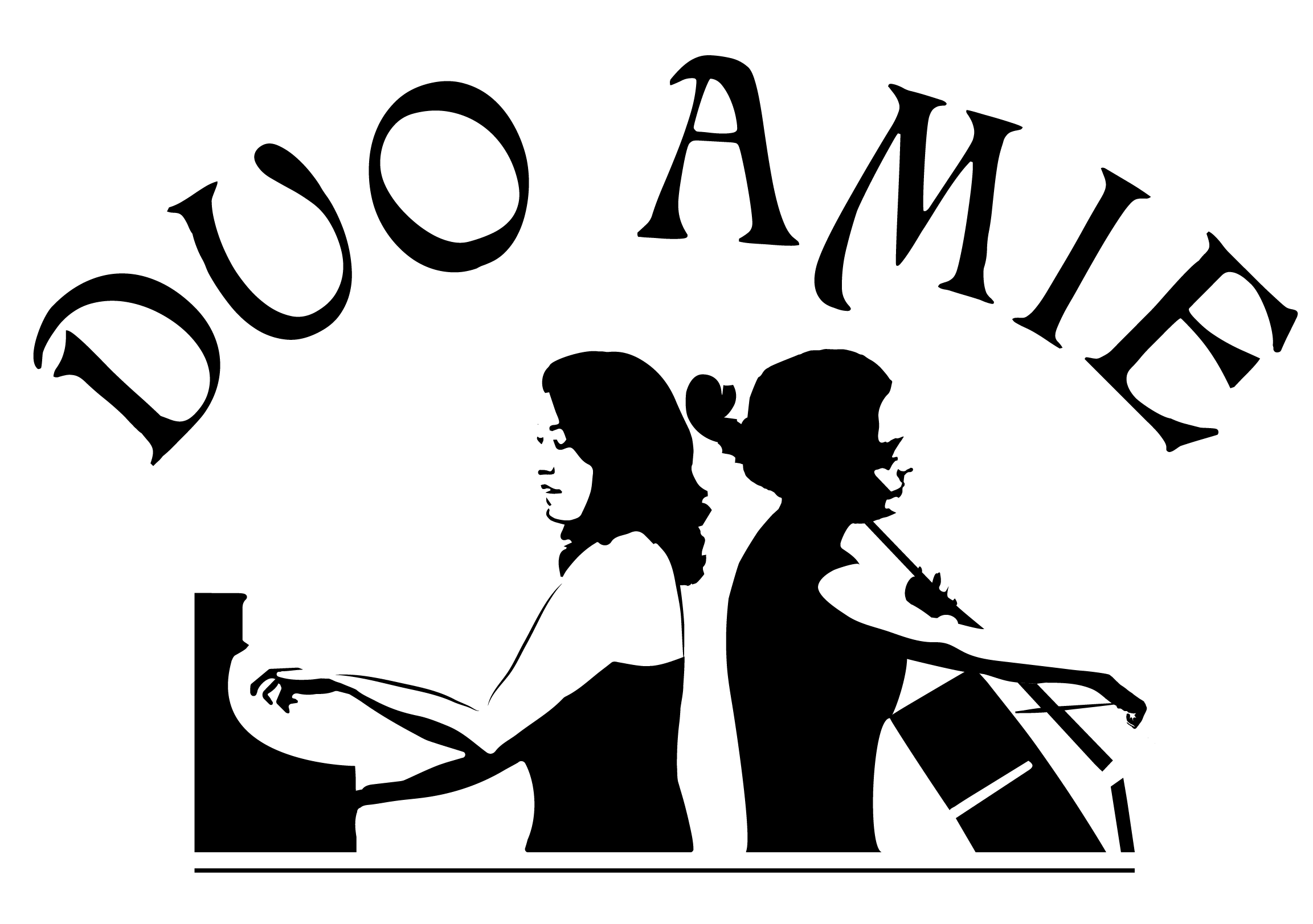 duoamielogo-Black and White transparent cropped.png