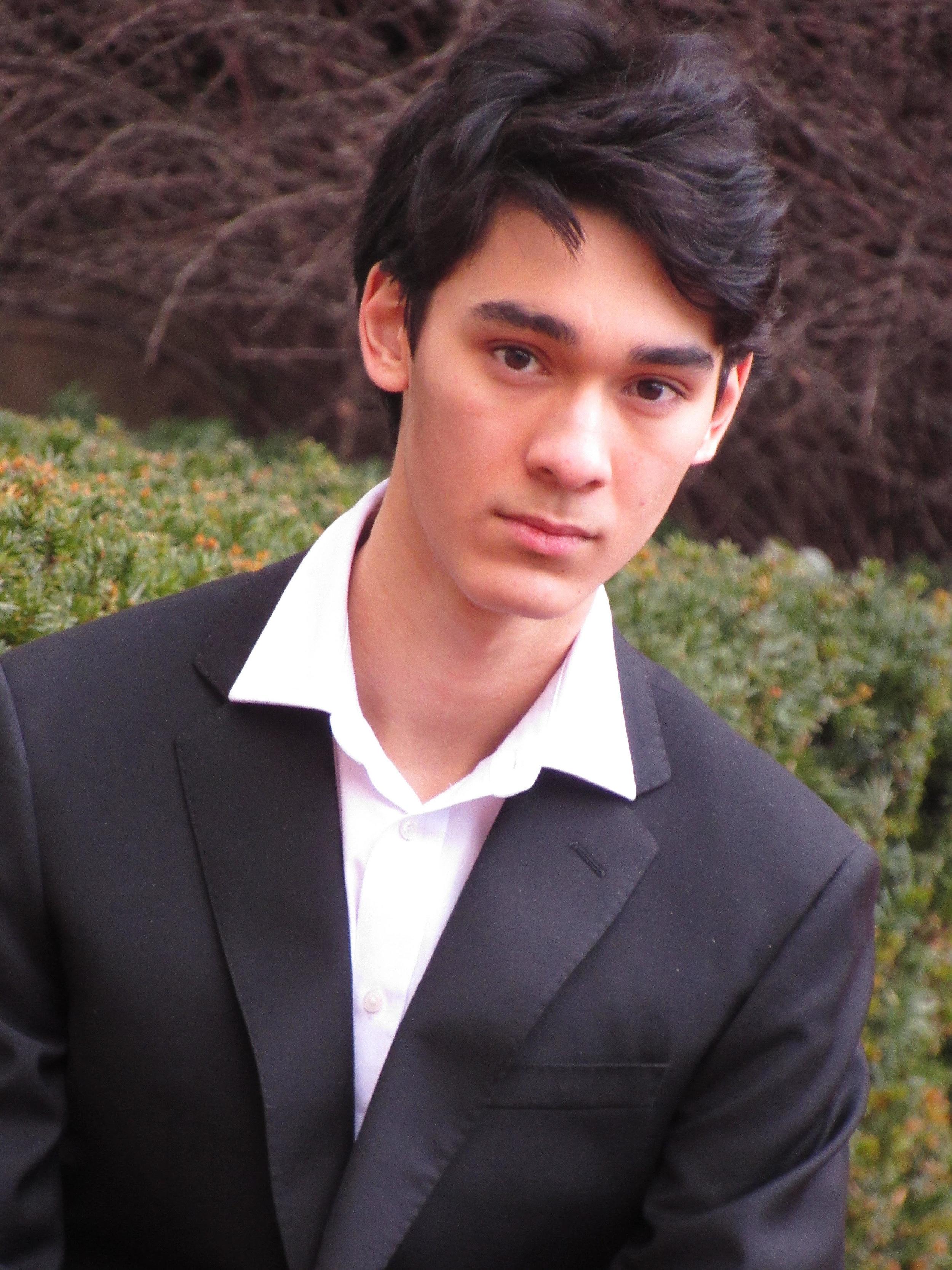 Lucas Amory, Piano Age 16  New York, NY