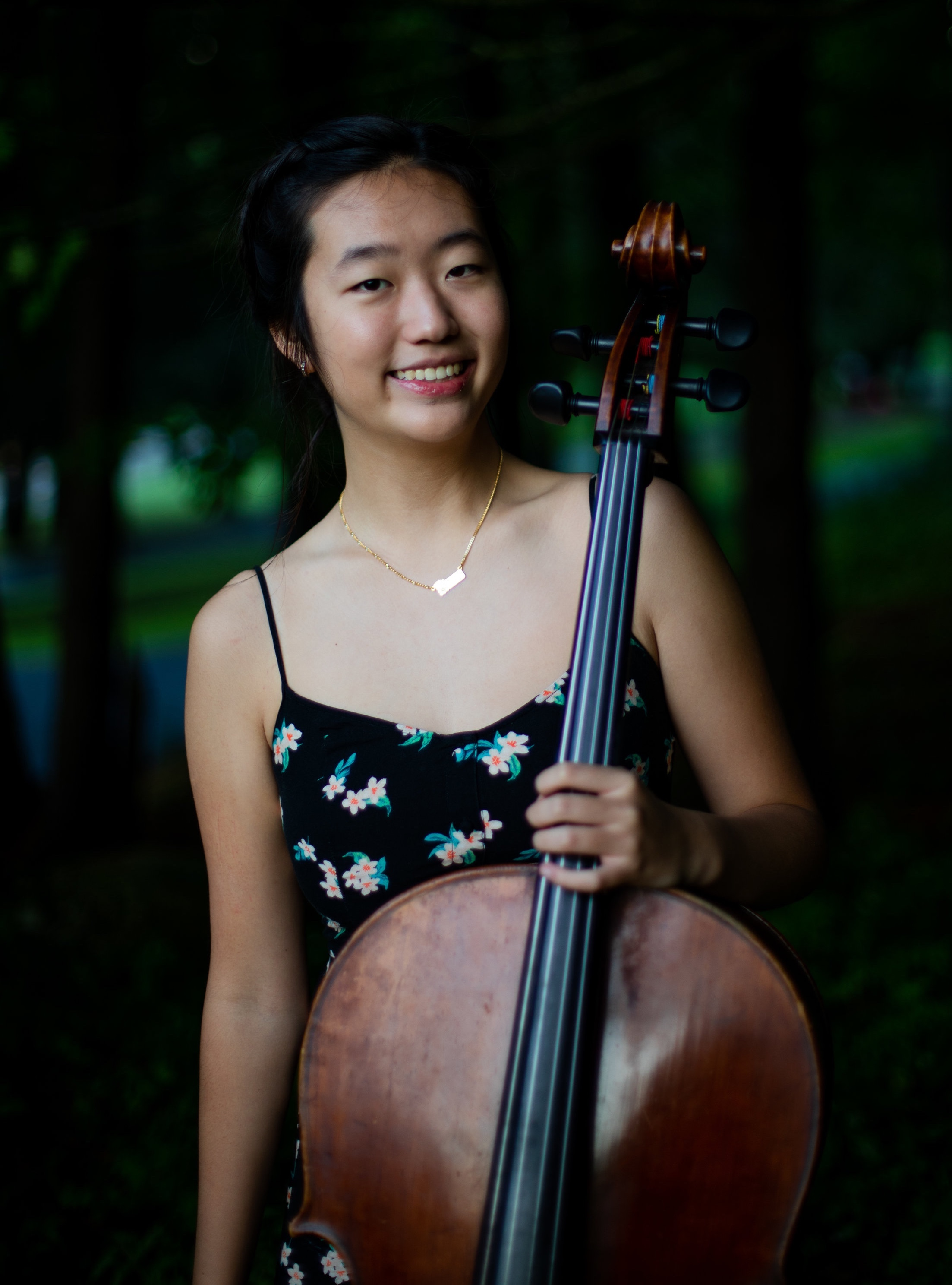 Christy Choi, Cello Age 16 Tenafly, NJ
