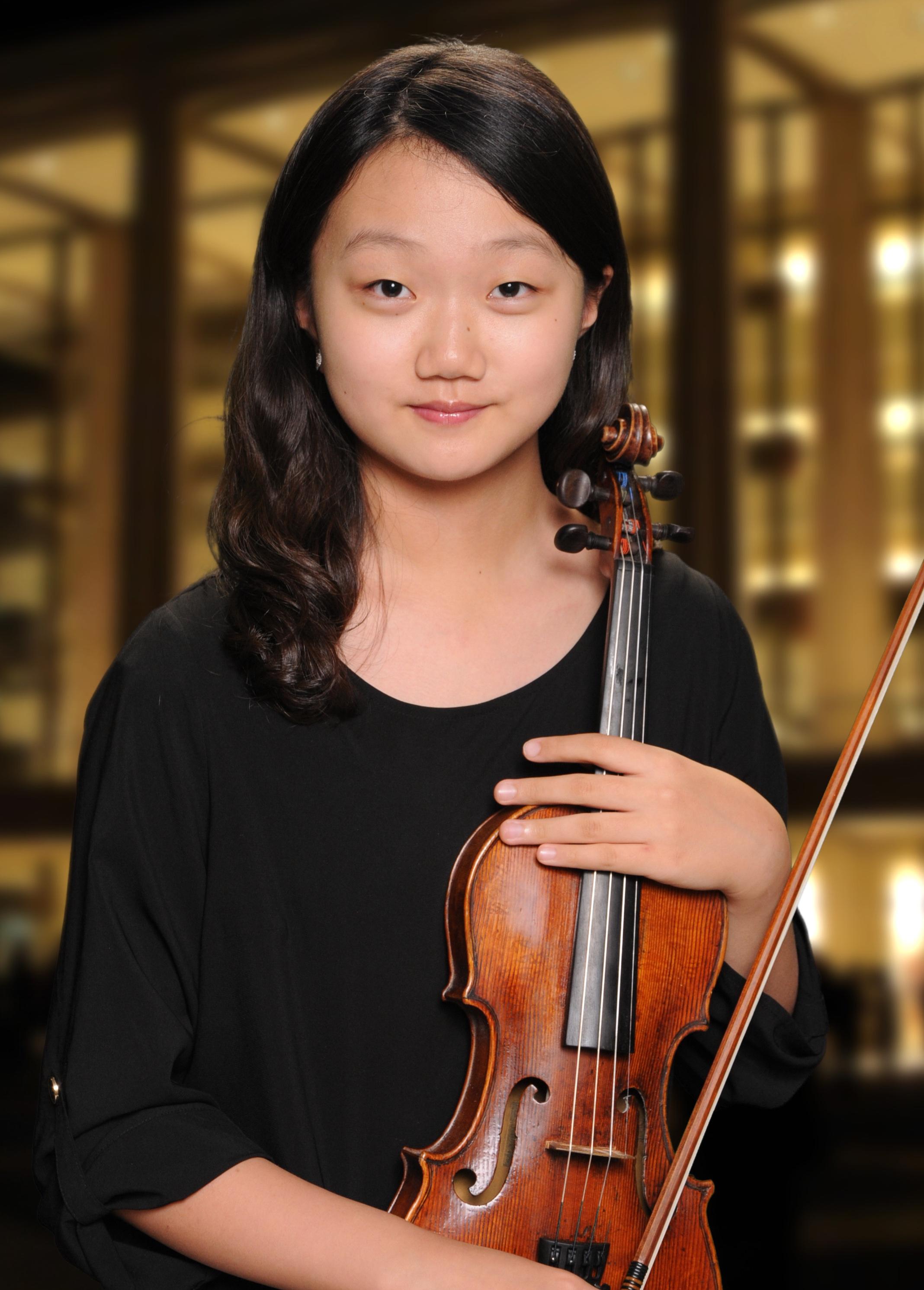 Serin Isabelle Park, Violin Age 15 Fort Lee, NJ