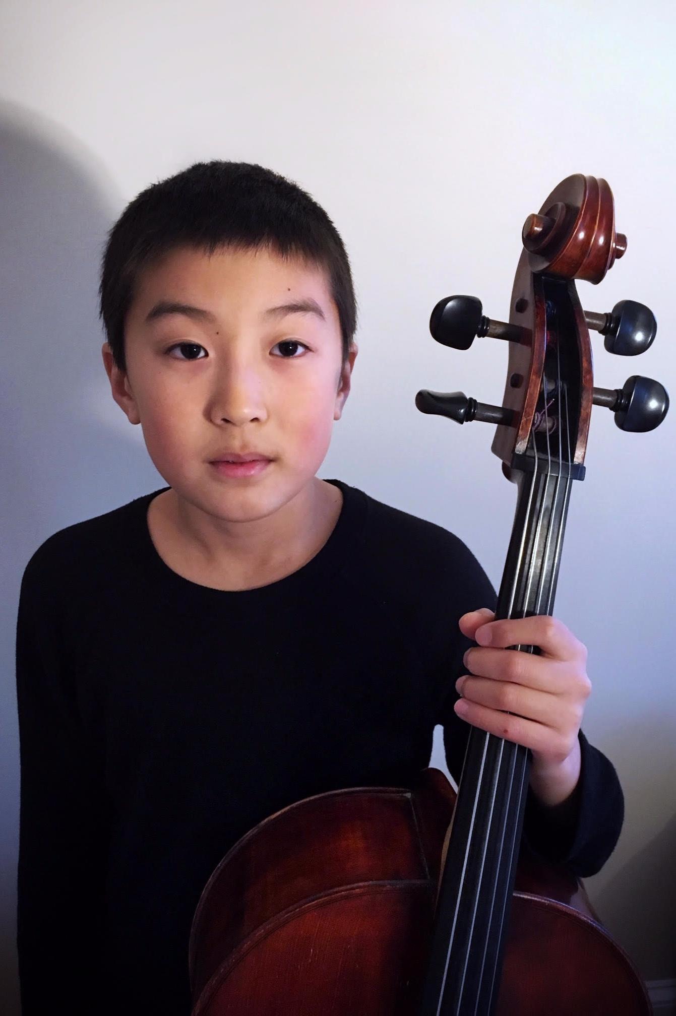 Oan Woo Park, Cello Age 12 New York, NY