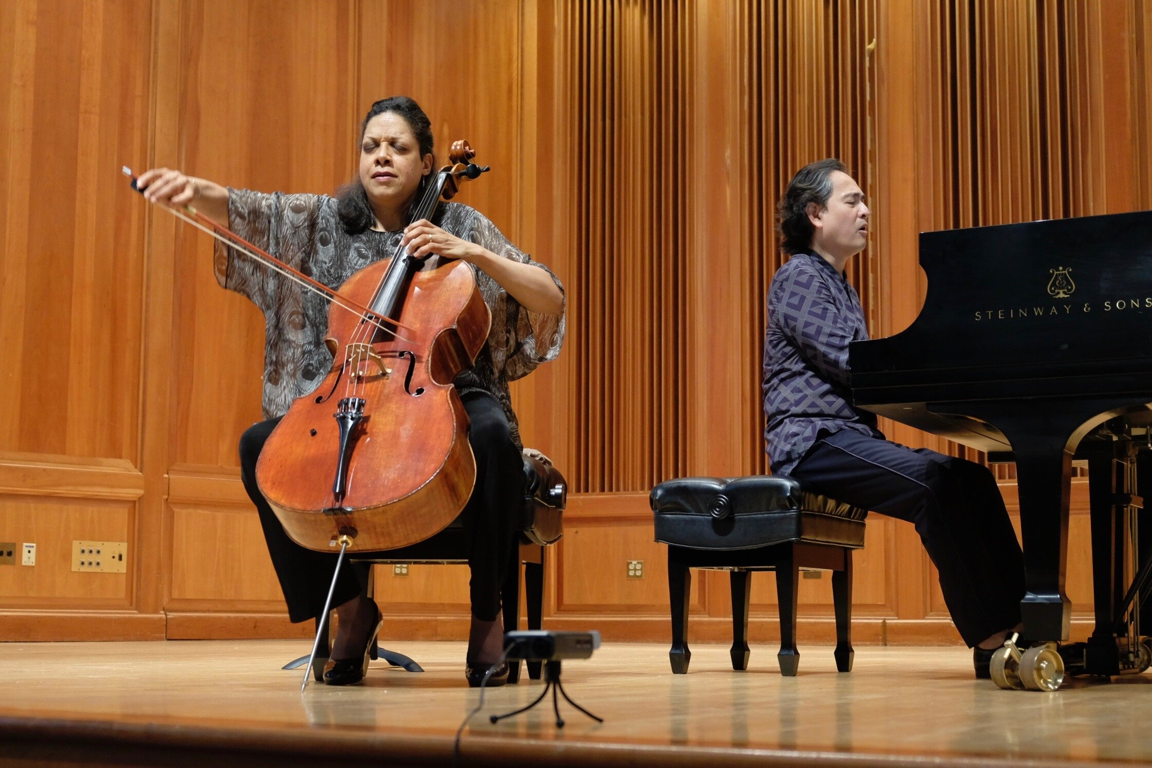 Guest Artist Astrid Schween and Victor Asuncion in Concert