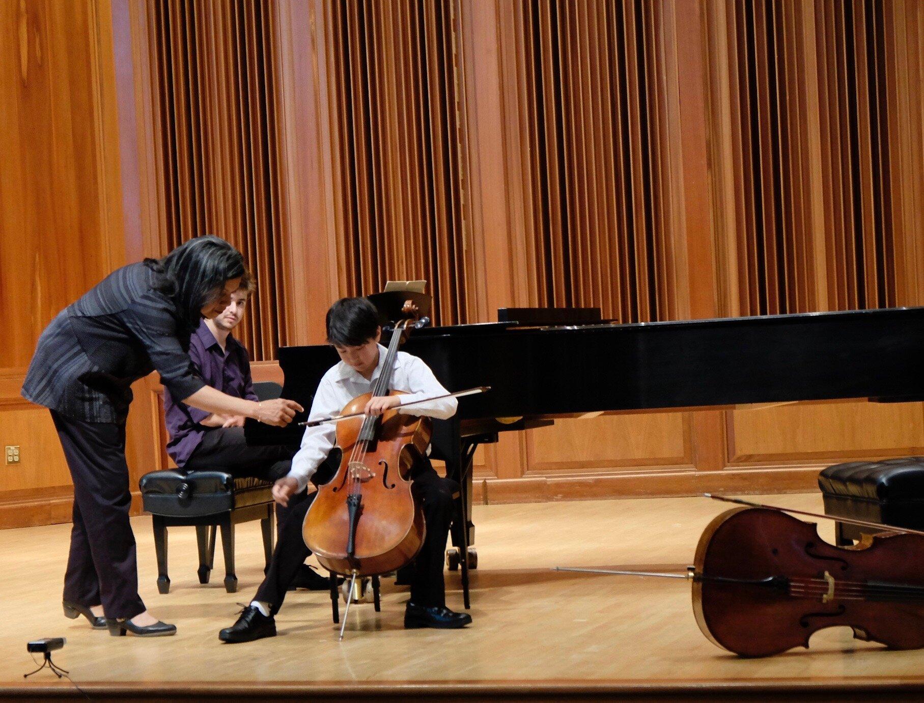 Astrid Schween Cello Masterclass