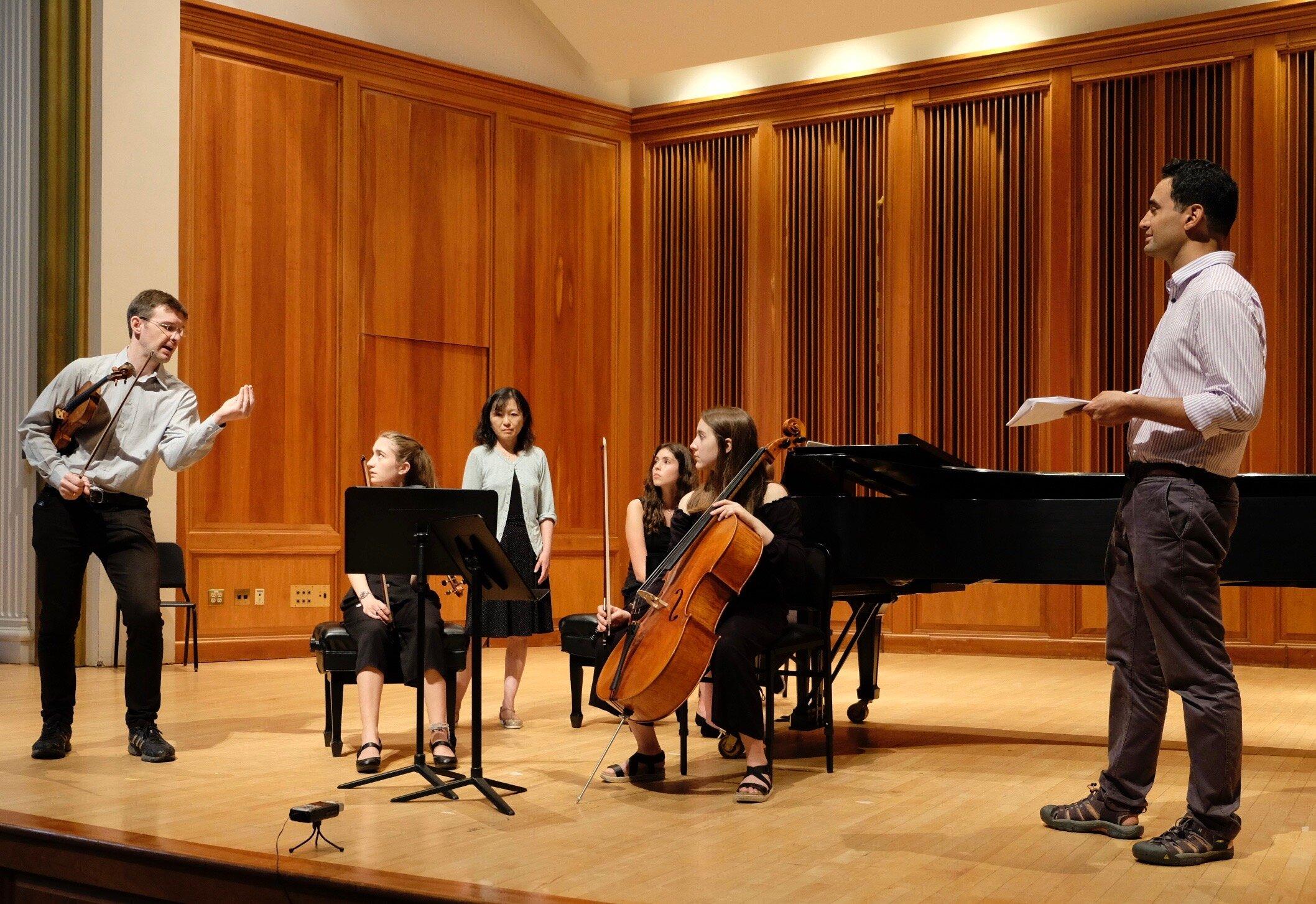 Horszowski Trio Masterclass