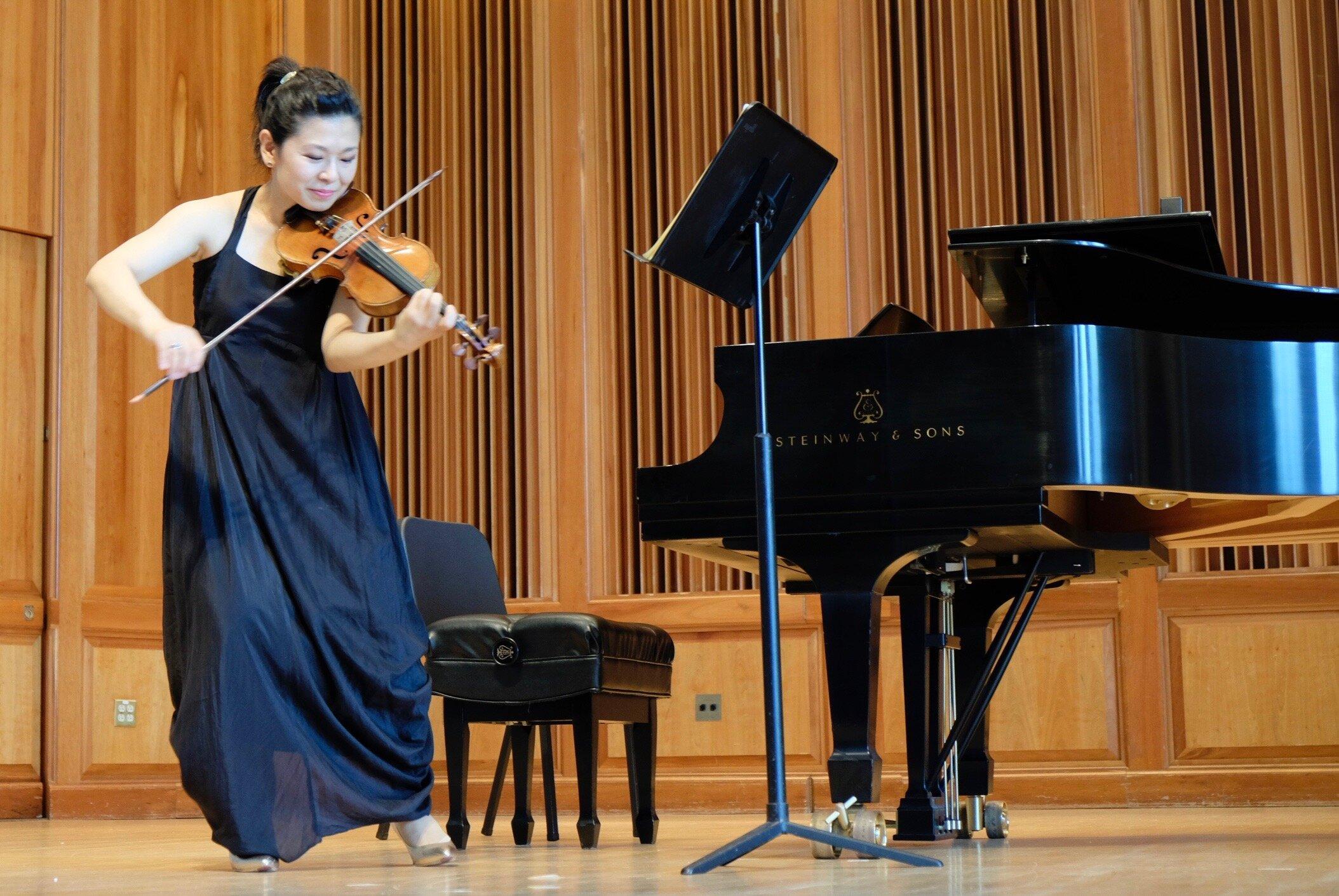 Guest Artist Ayano Ninomiya and Pei-Shan Lee in Concert