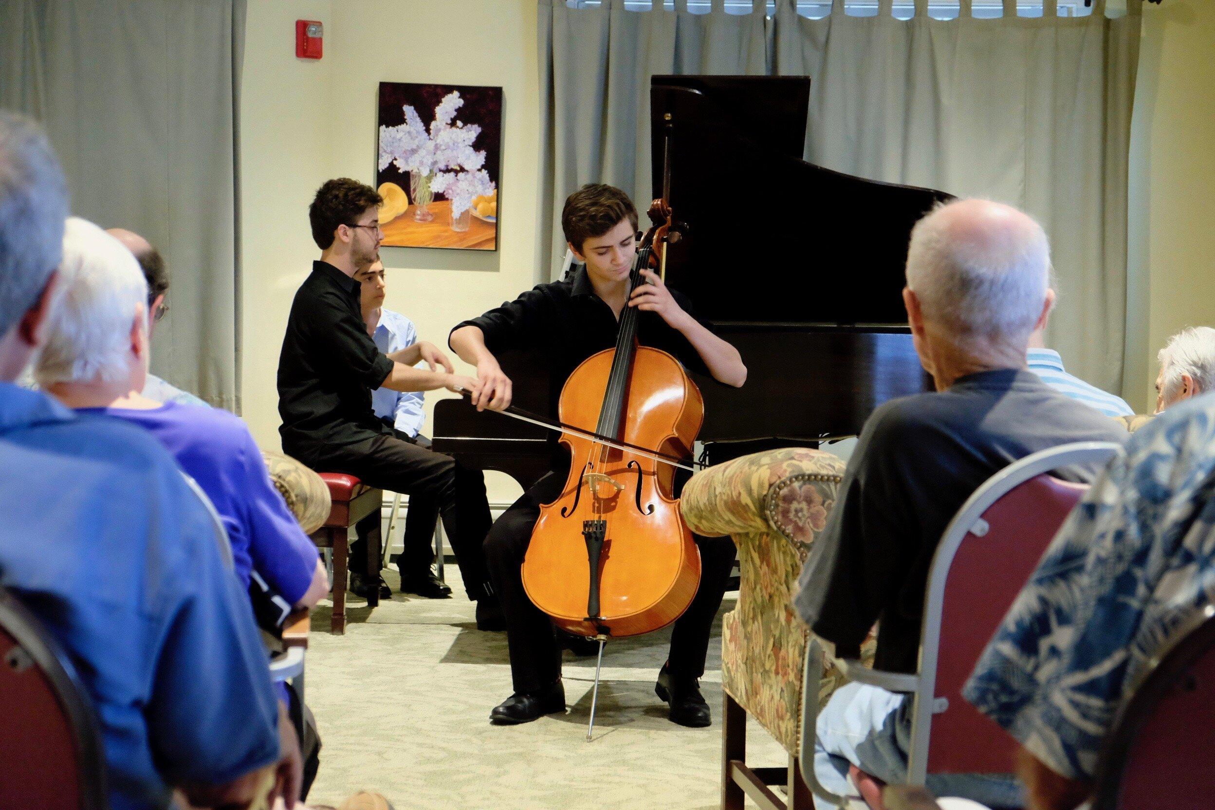 Lathrop Retirement Community Outreach Concert