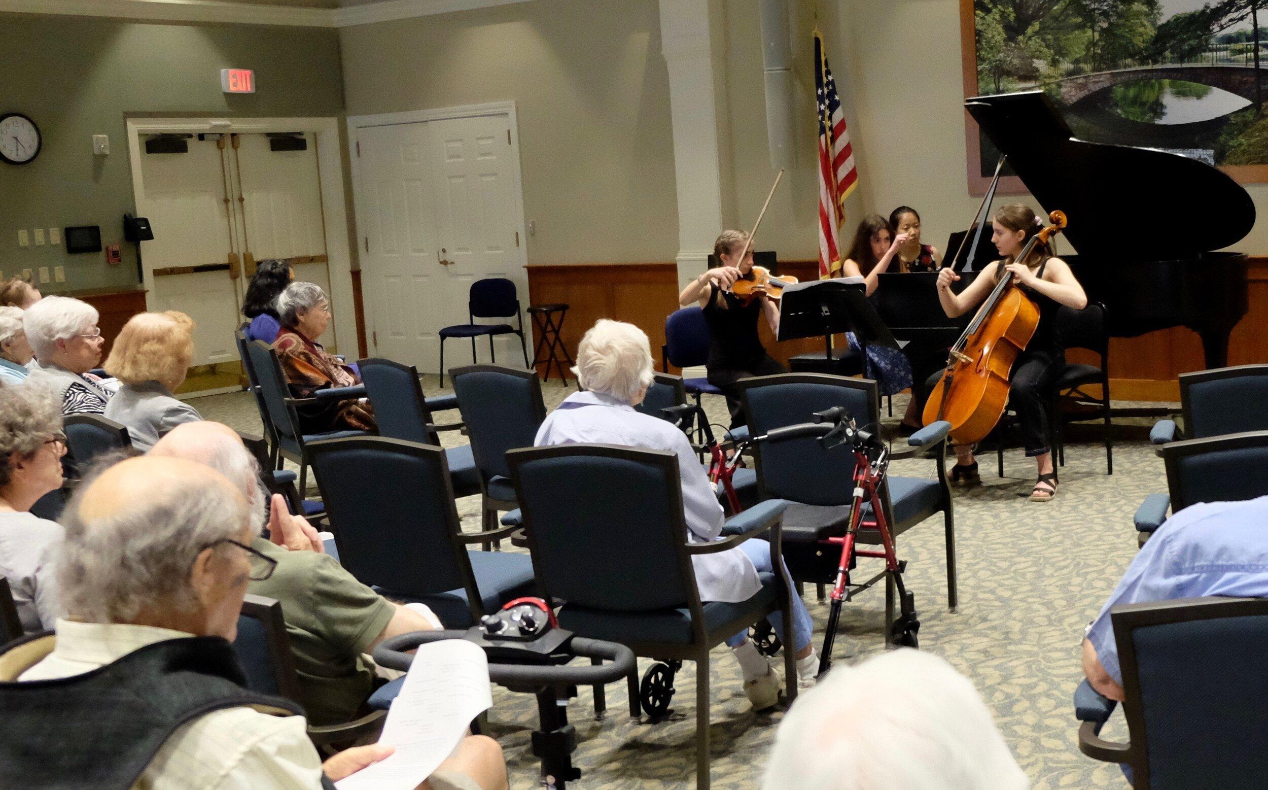 Loomis Village Outreach Concert