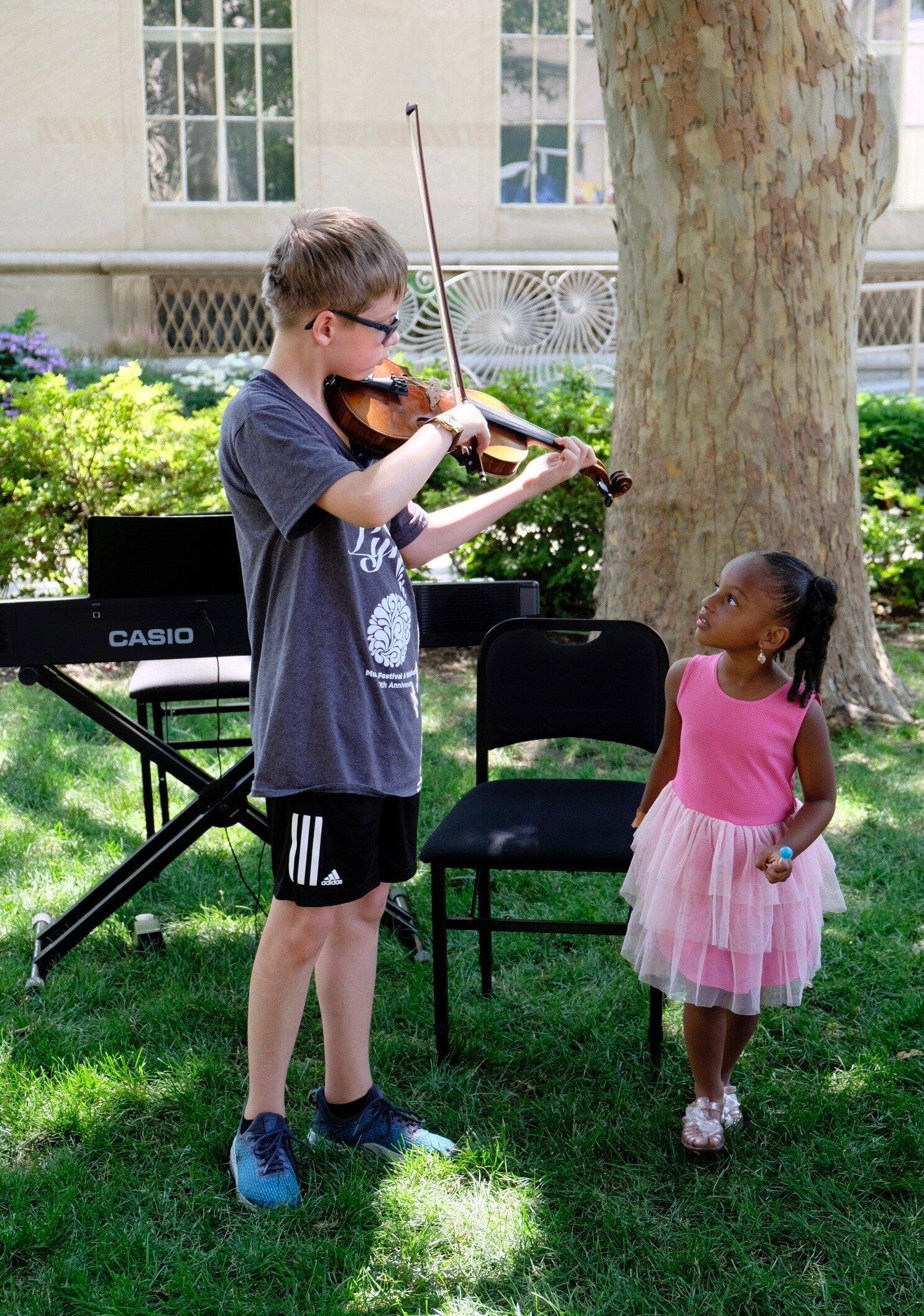 Springfield Museum Outreach Concert