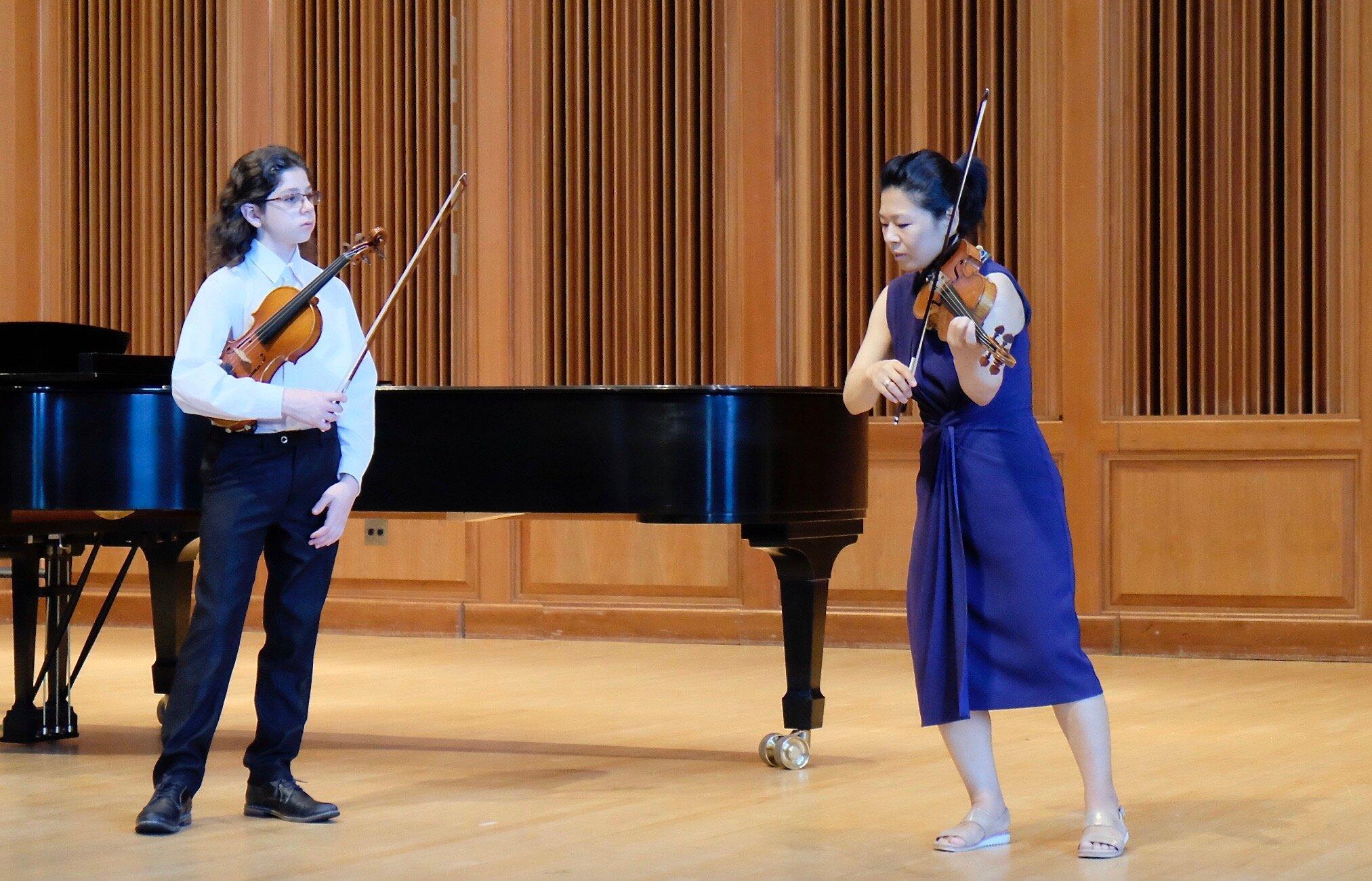 Ayano Ninomiya Violin Masterclass