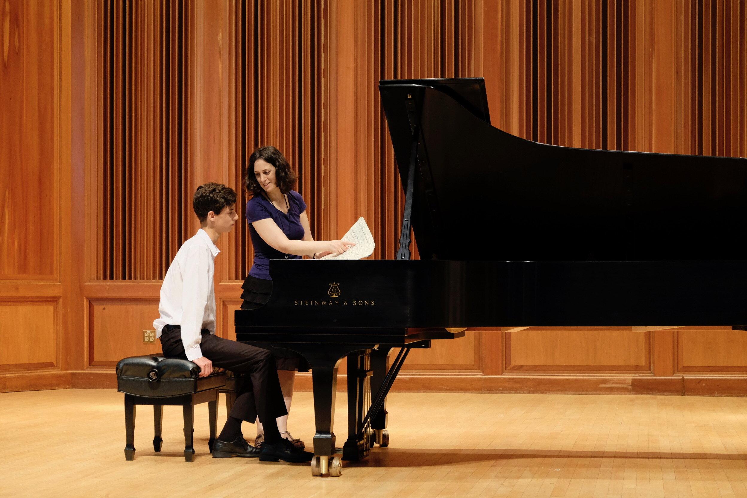 Renana Gutman Piano Masterclass