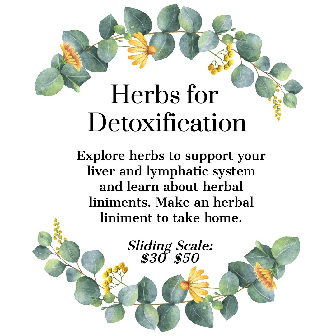 Herbs Detoxification Liver Lymphatic cleansing
