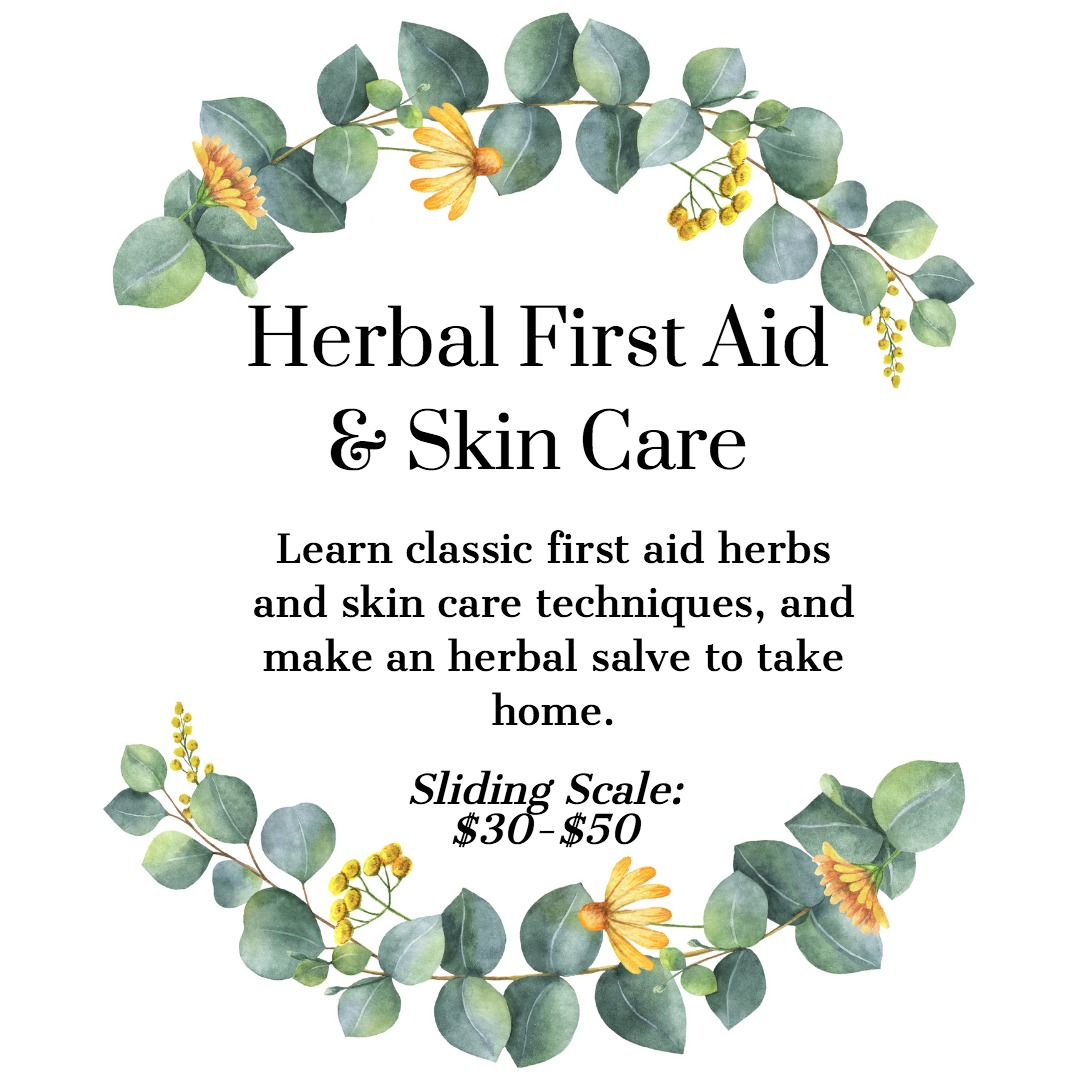 Herbal First Aid Natural Skin Care