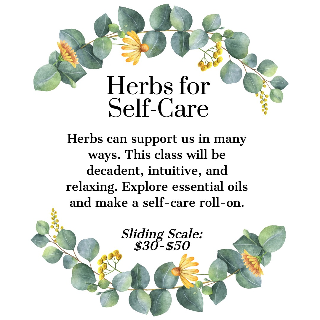 Herbs for Self Care