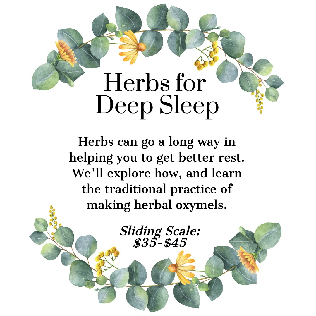 Herbs for Deep Sleep