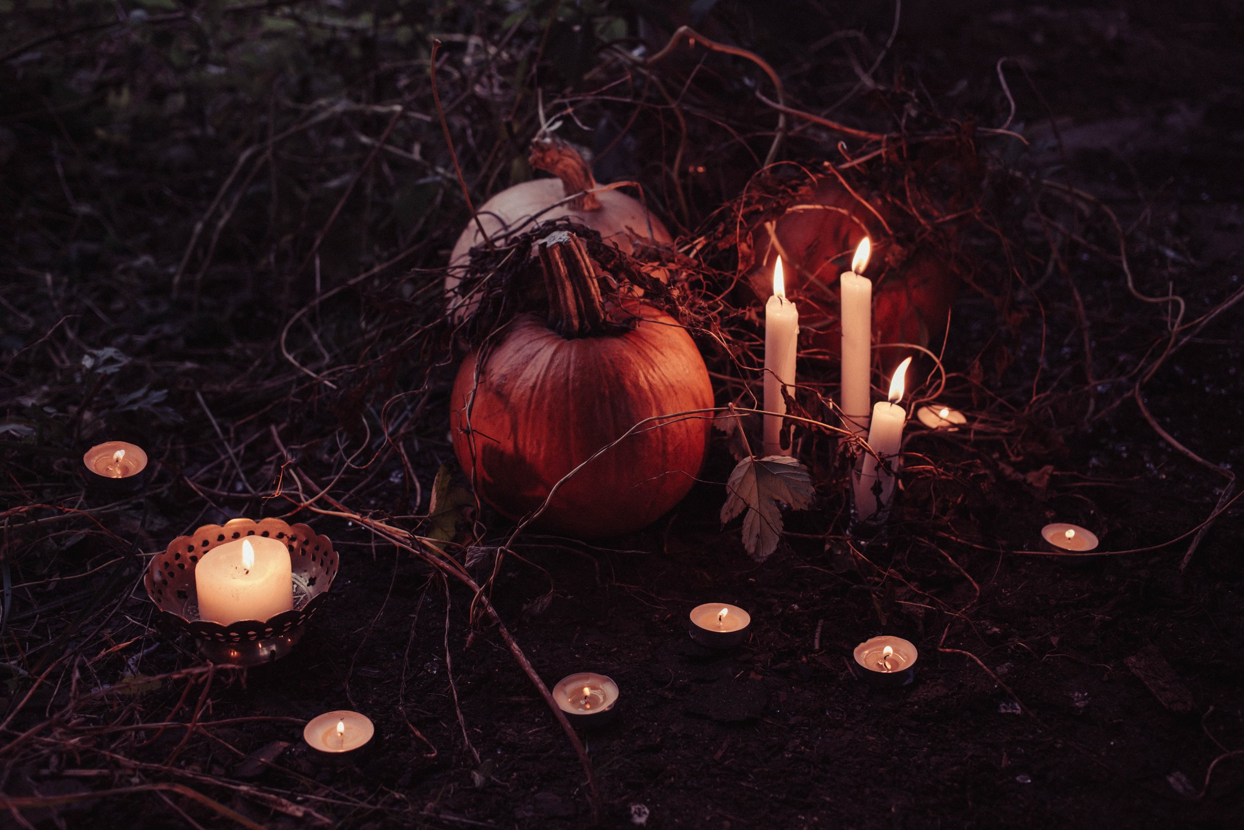 """Samhain (aka Halloween) is perhaps the most widely celebrated of the seasonal holidays. I didn't grow up celebrating Halloween (and I still don't), but these days I celebrate Samhain. And I go around saying """"the thinning of the veil"""" incessantly as Samhain approaches. Ask my friends. They'll roll their eyes at you."""