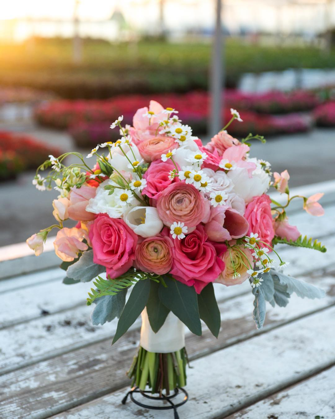 Capable - Sweet Peas Flower Farm offers the skills of experienced designers who are ready to harvest and incorporate the freshest flowers into your special event.