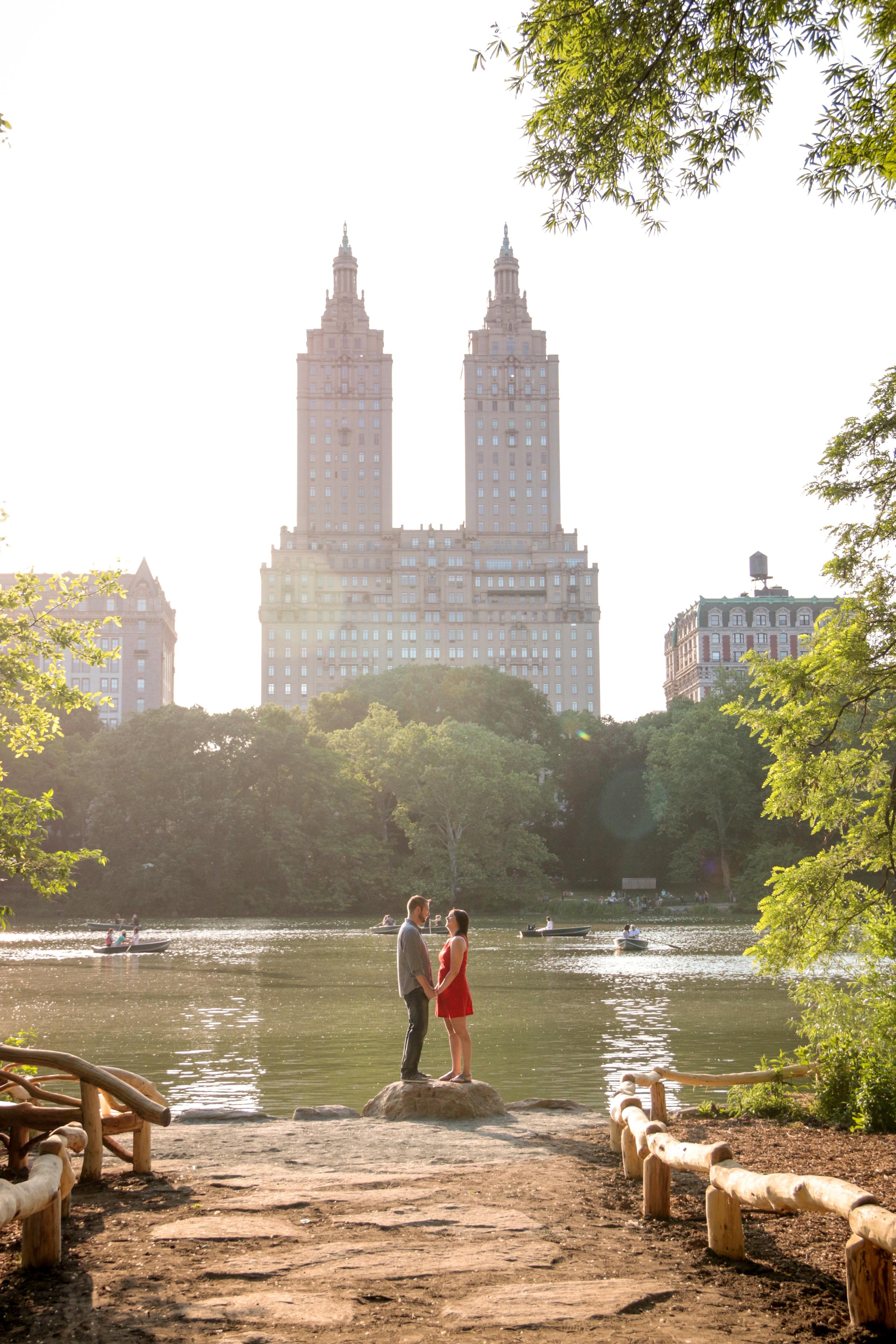 Central Park Engagement Photos - San Remo