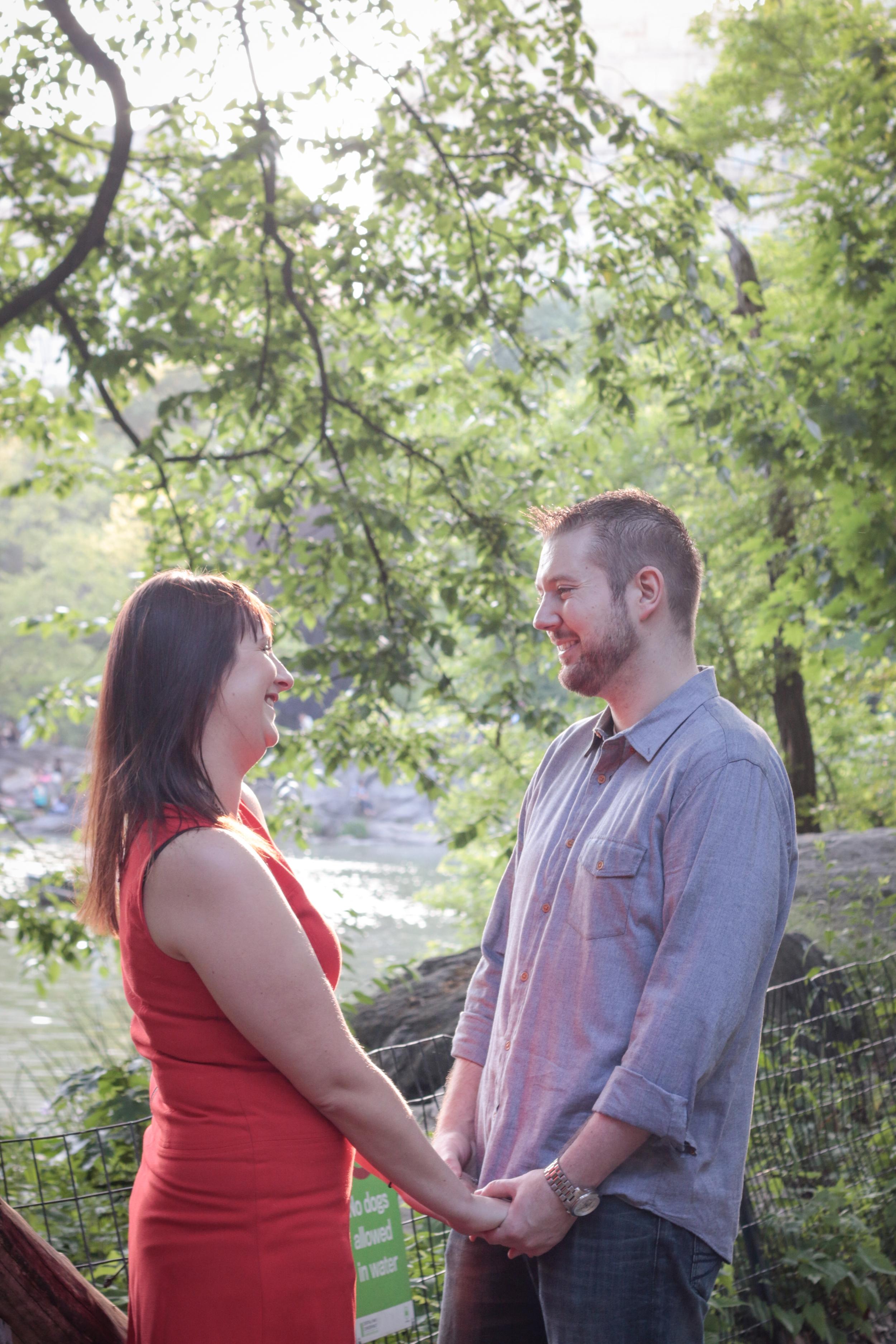 Central Park Engagement Photos - The Ramble