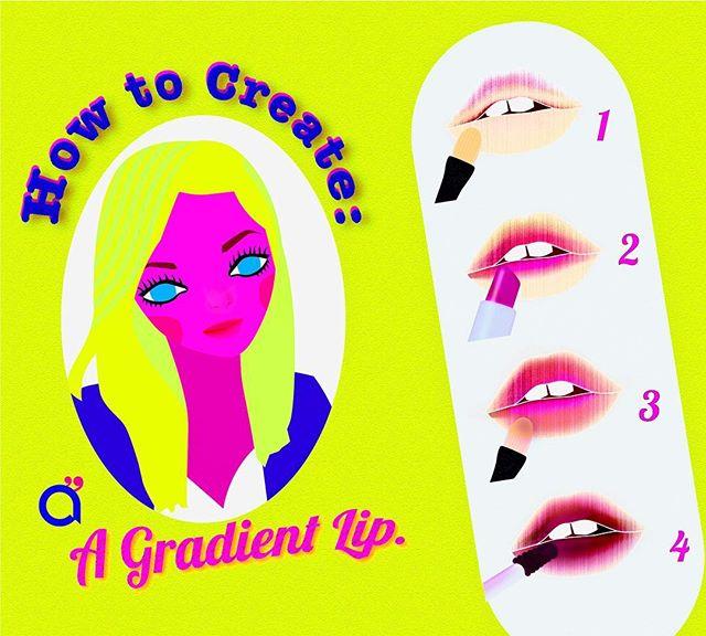 How to Create a Gradient Lip Instructions:  #화장품사용법 #화장품 #방법 #사용법 #instructions #makeupillustration #로고 #cosmeticdesign  #belleza  #cosmetics #design #립스틱#디자인 #일러스트 #ilustracion #diseño #cosmética #cosmeticacoreana #maquillaje #makeup #koreanmakeup #화장품디자인 #howtouse #corea #korea #한국 #피푸 #beauty #design #lipstick #lipsmakeup