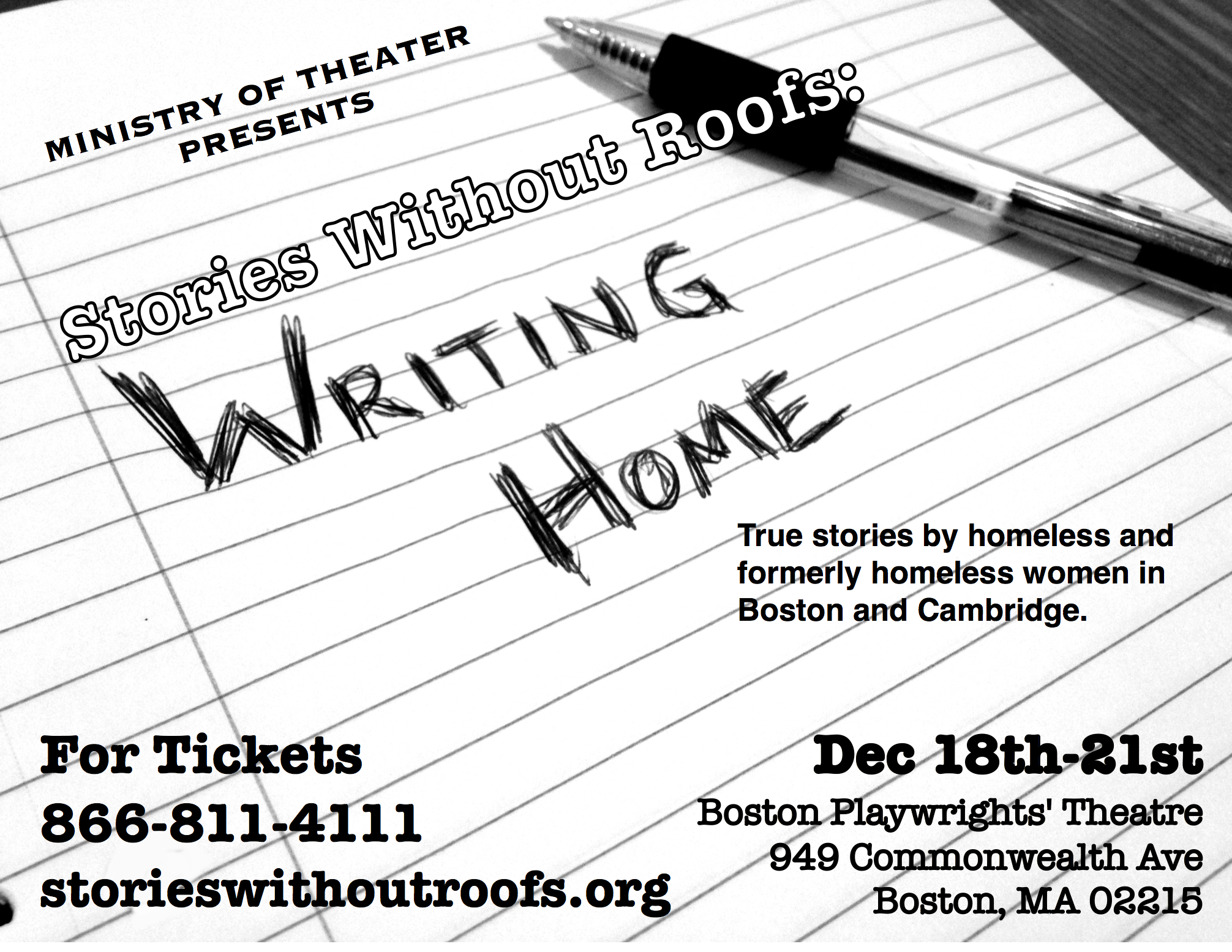 Stories Without Roofs: Writing Home poster