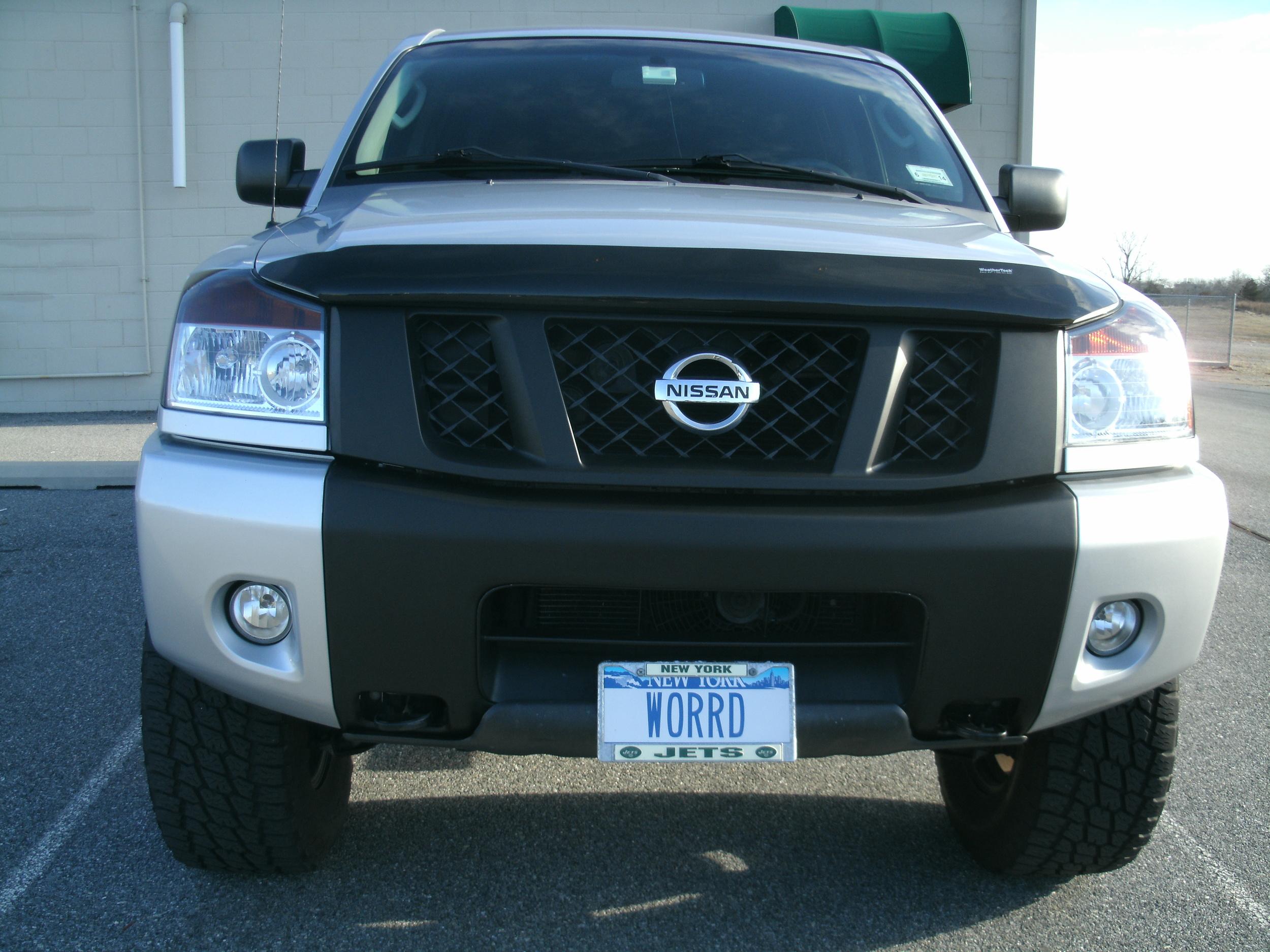 Nissan Titian with 3M Matte Black Grille & Bumper.JPG