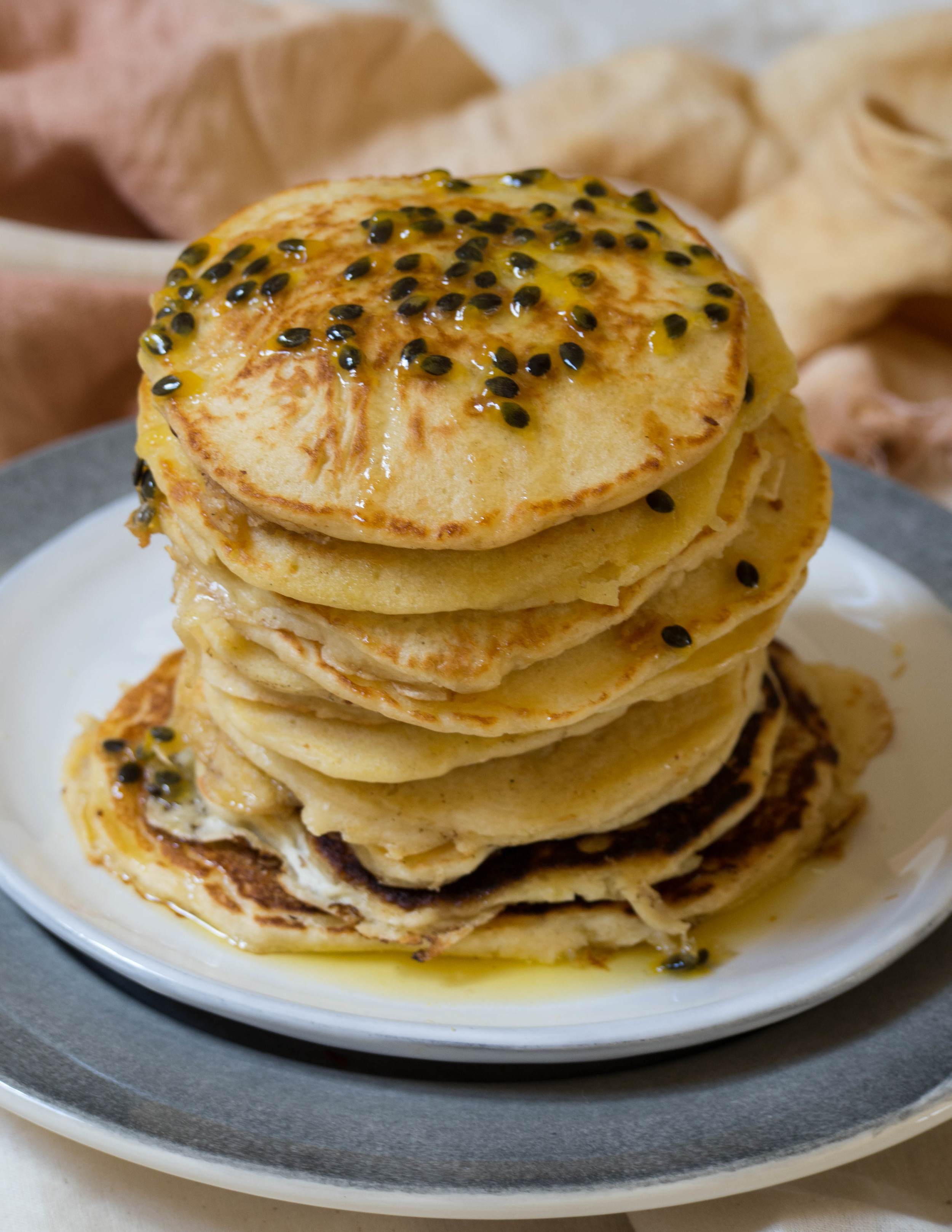 Passionfruit Pancakes - Kulinary Adventures of Kath
